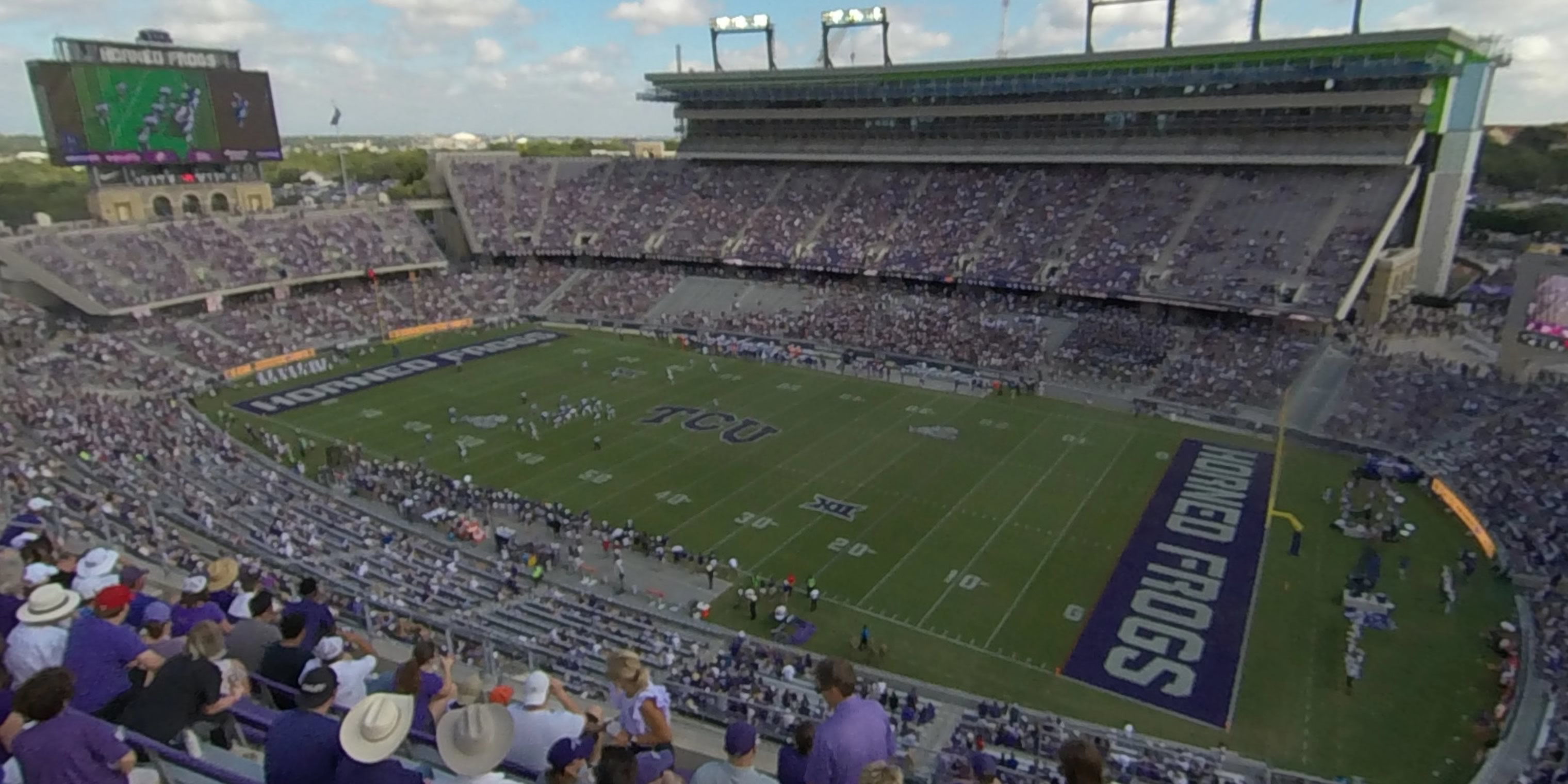 360° Photo From Amon Carter Stadium Section 302