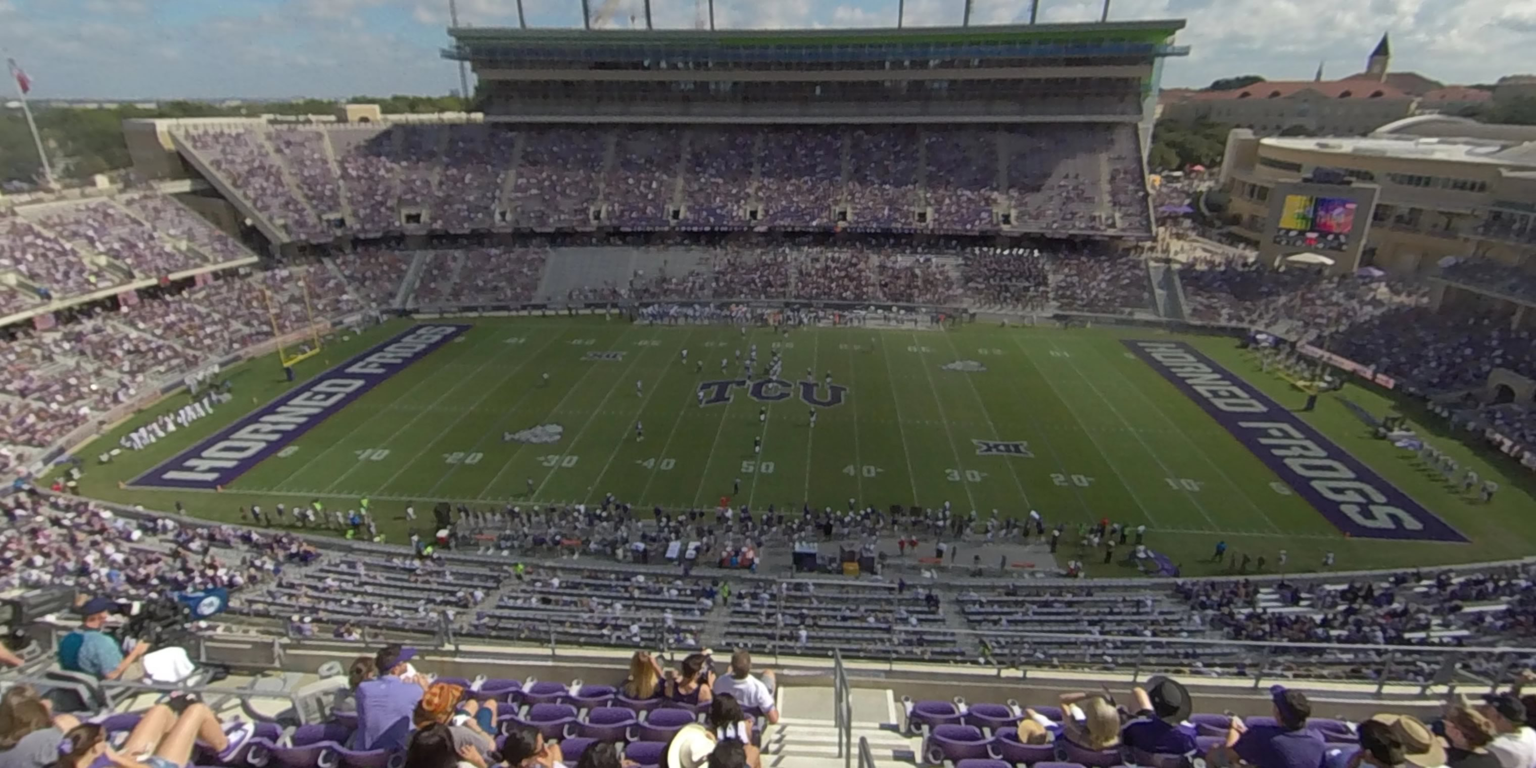 360° Photo From Amon Carter Stadium Section 305