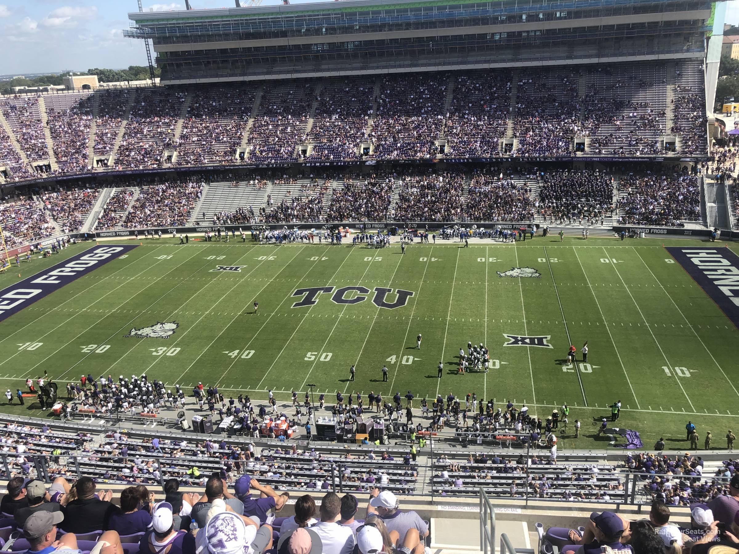 Seat View for Amon Carter Stadium Section 305, Row G