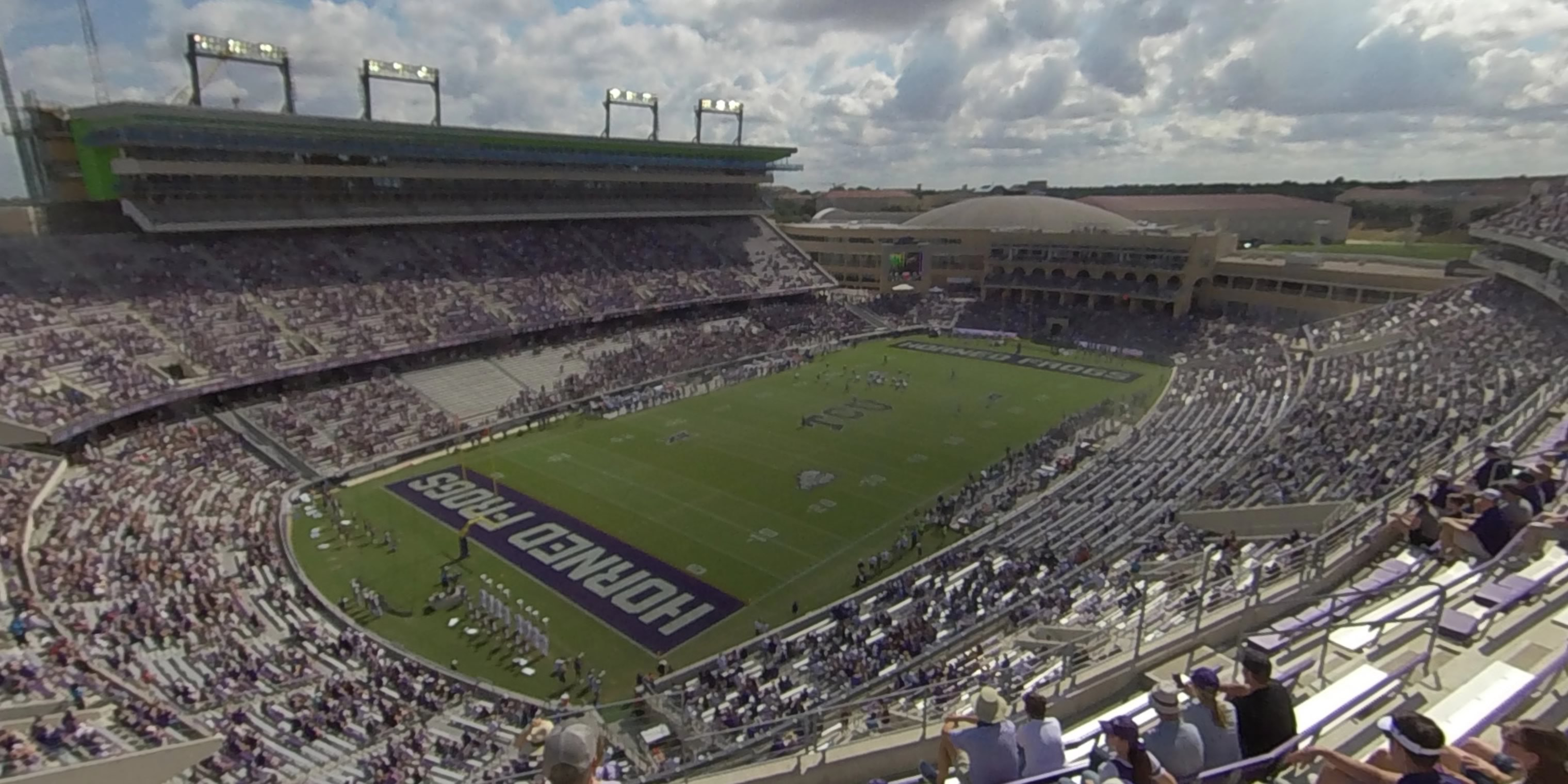 360° Photo From Amon Carter Stadium Section 313