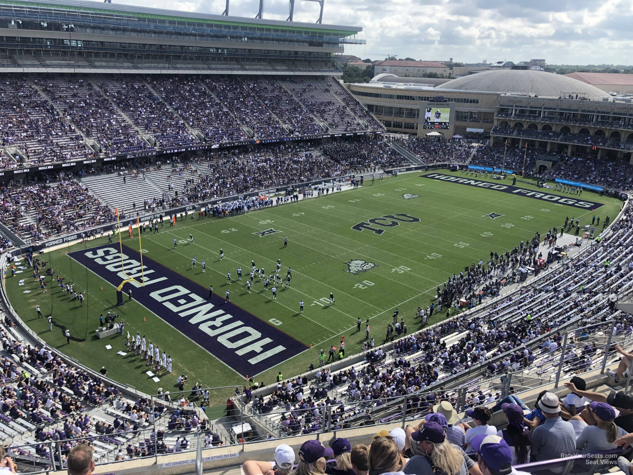 Seat View for Amon Carter Stadium Section 314, Row G