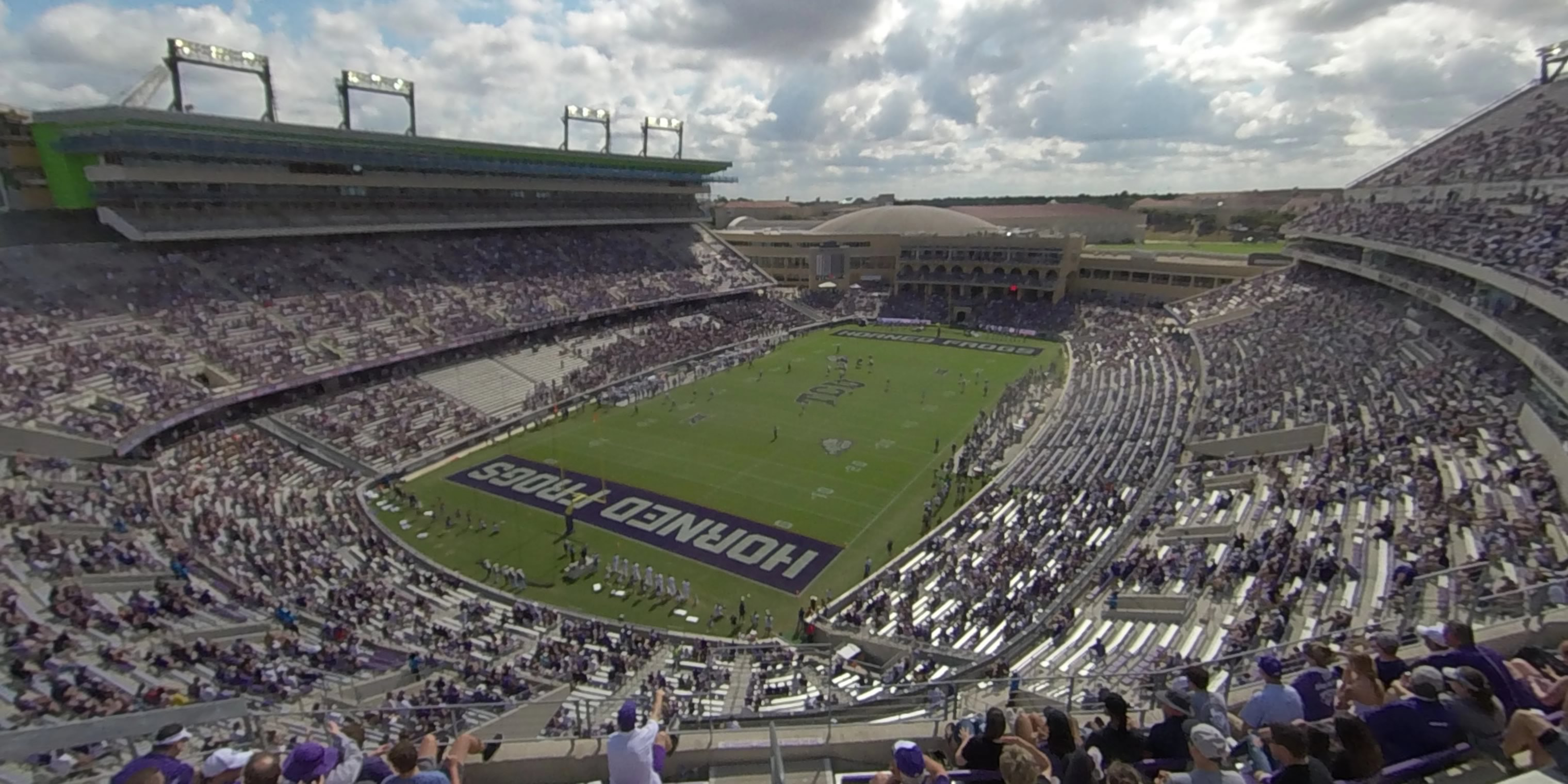 360° Photo From Amon Carter Stadium Section 316