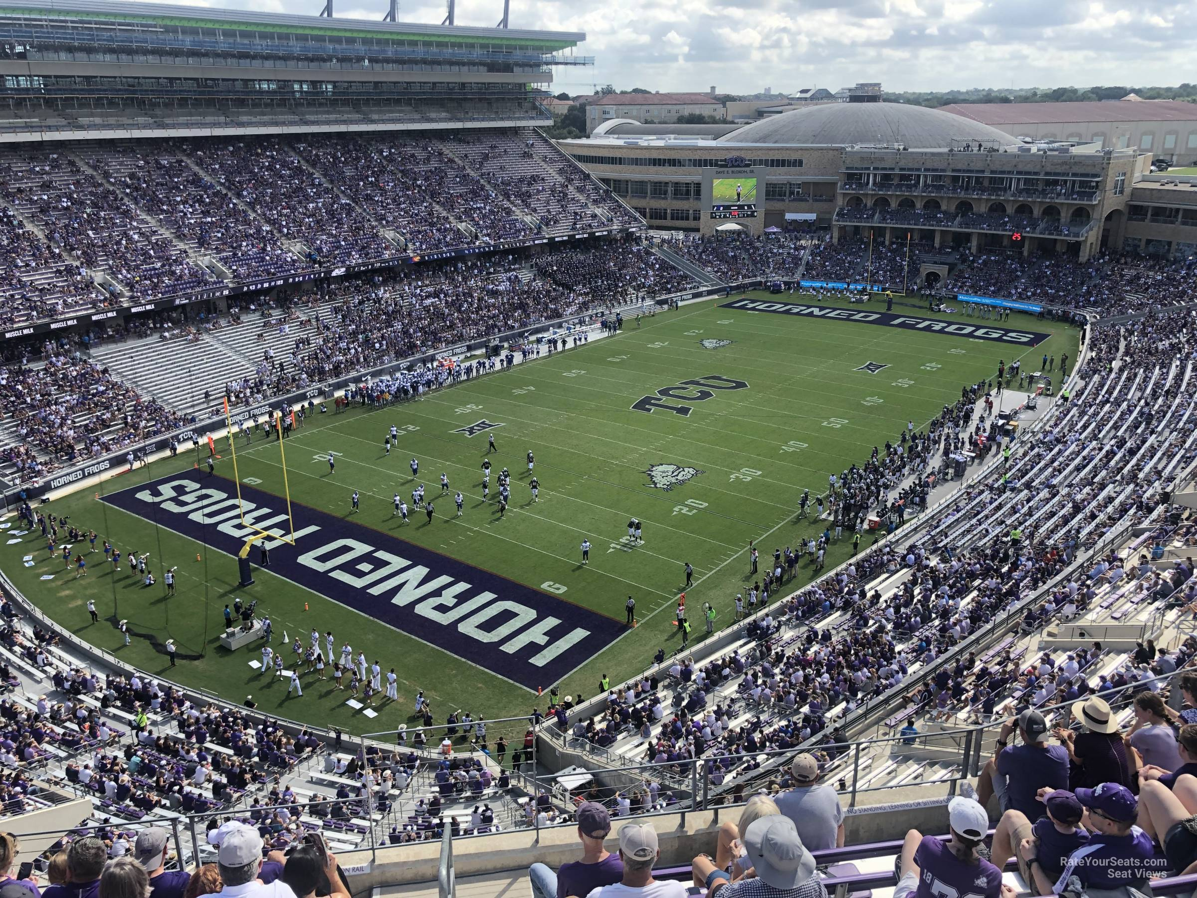 Seat View for Amon Carter Stadium Section 315, Row G