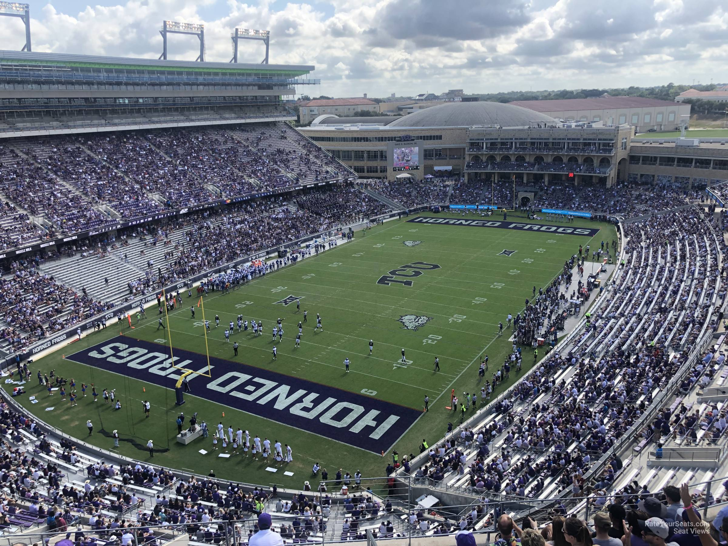 Seat View for Amon Carter Stadium Section 316, Row G