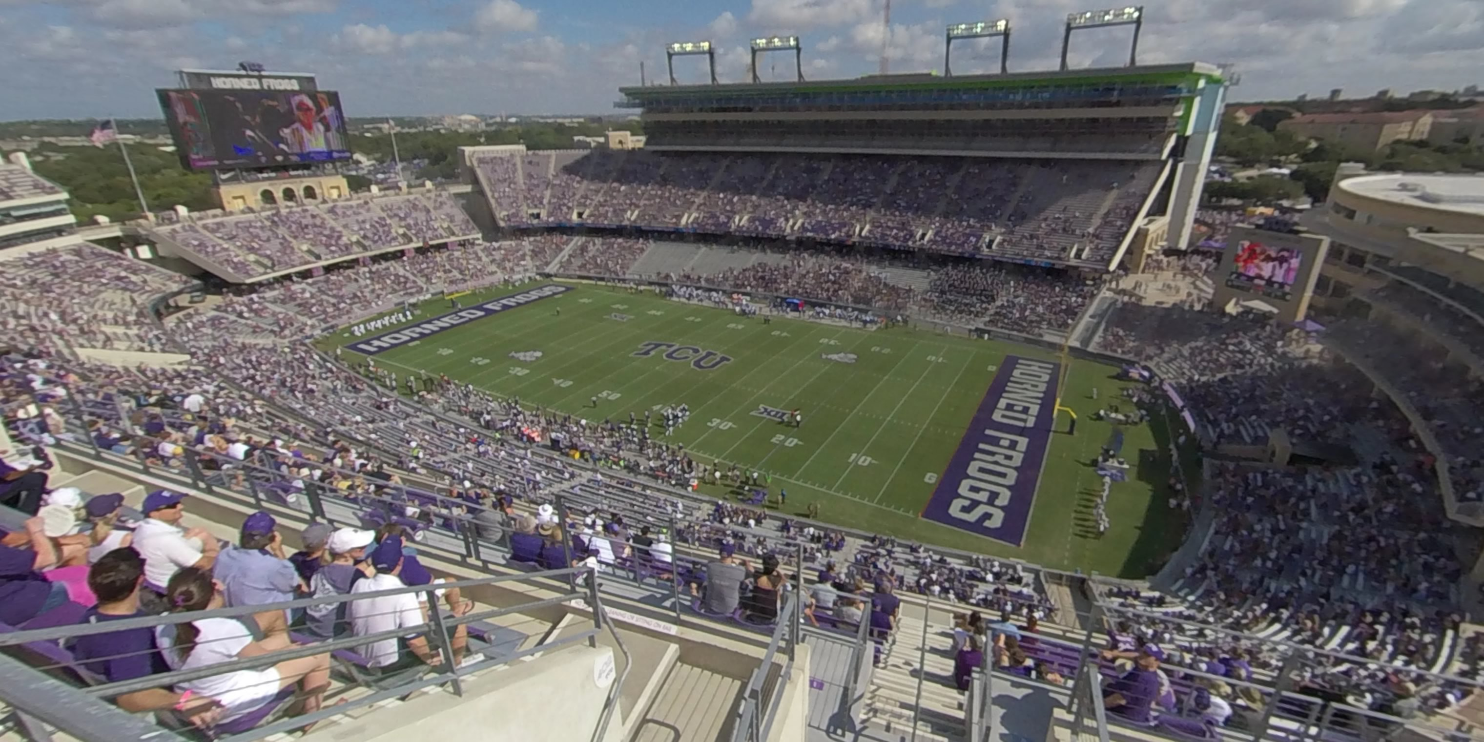 360° Photo From Amon Carter Stadium Section 401