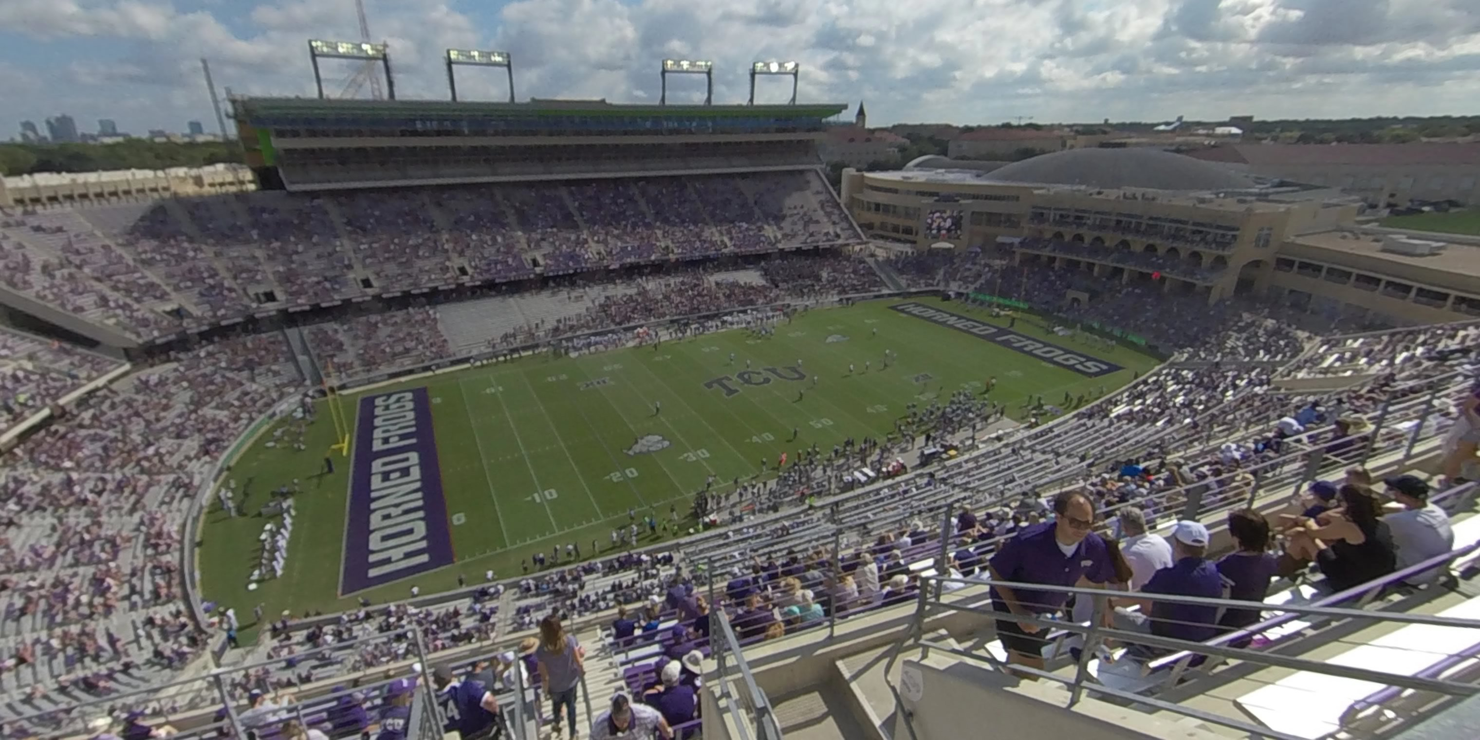 360° Photo From Amon Carter Stadium Section 409