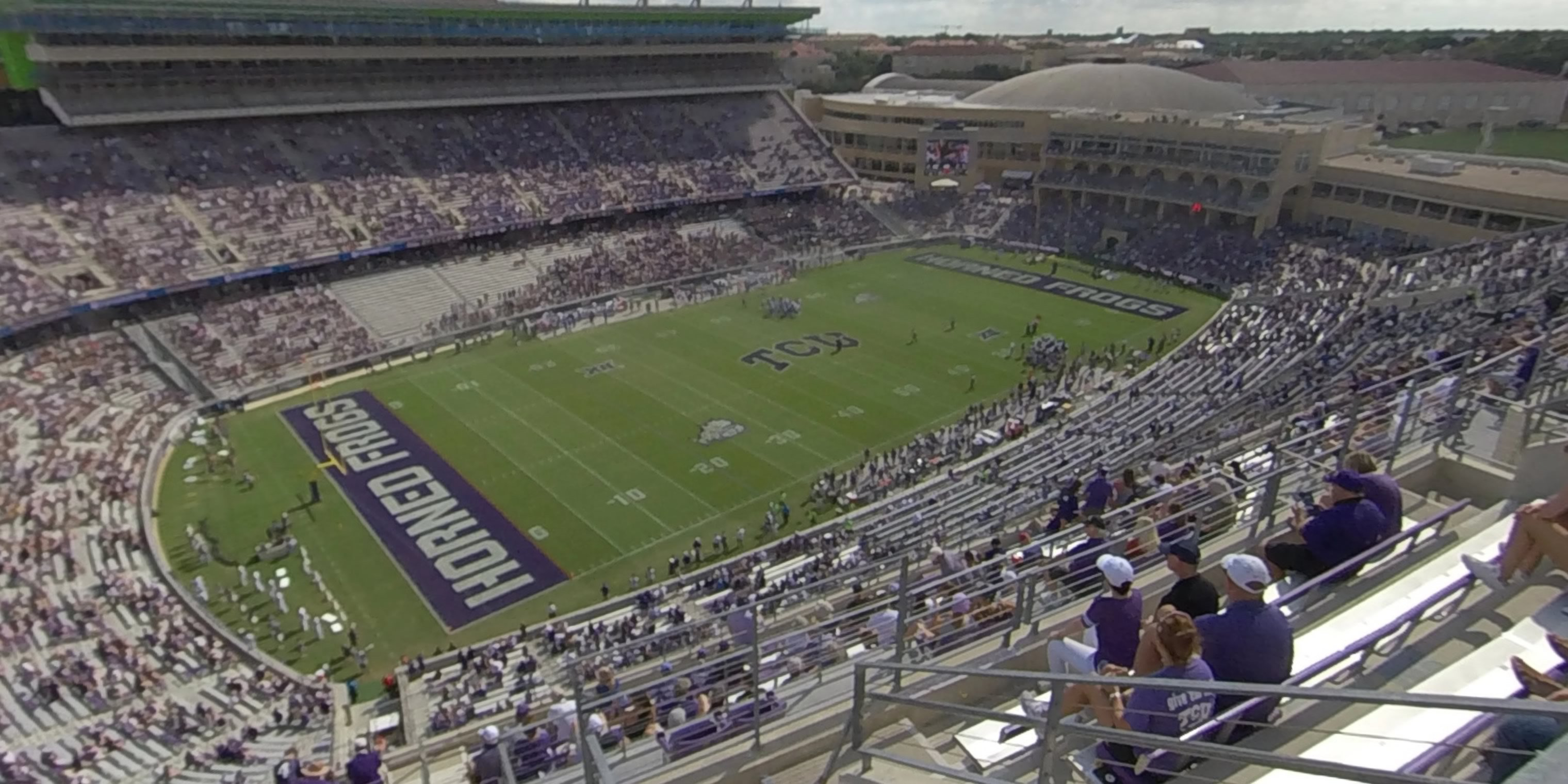 360° Photo From Amon Carter Stadium Section 412