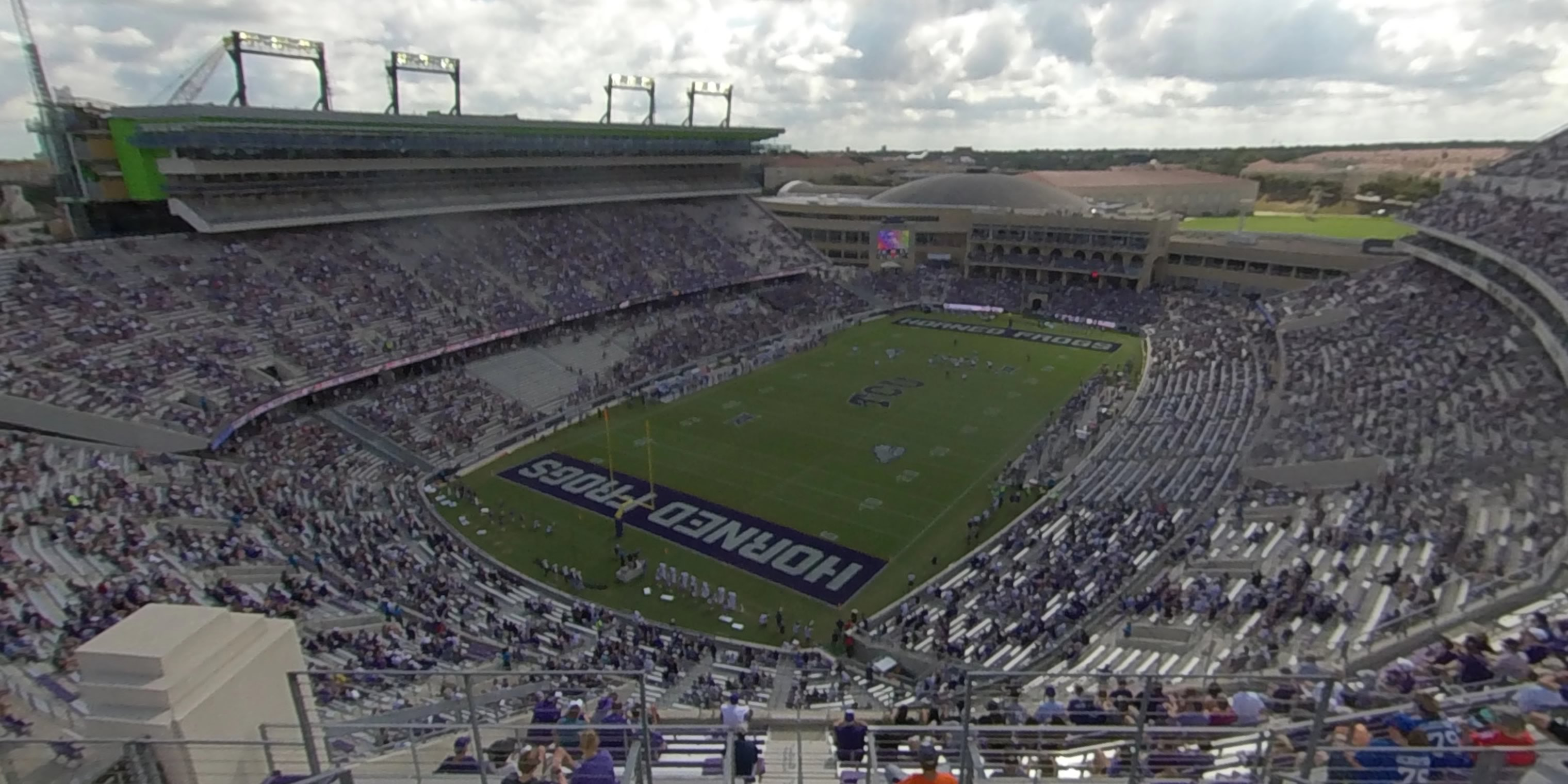 360° Photo From Amon Carter Stadium Section 416