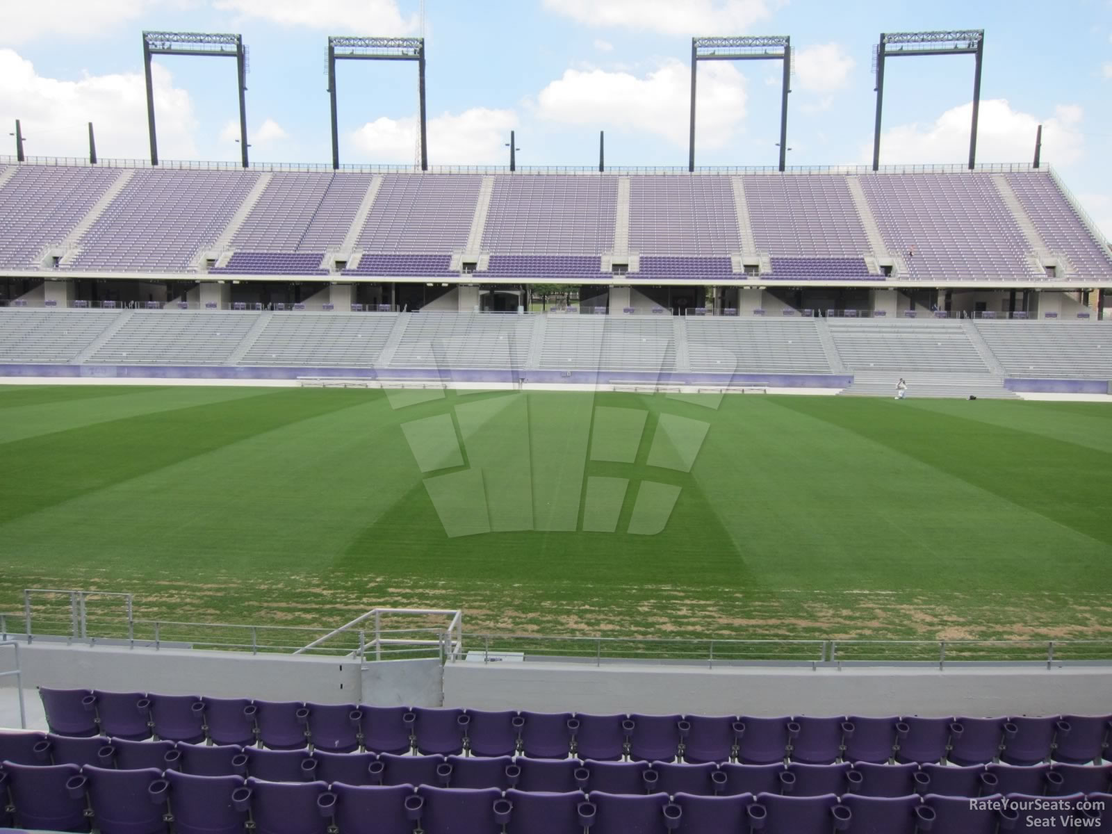 Seat View for Amon Carter Stadium Section 104
