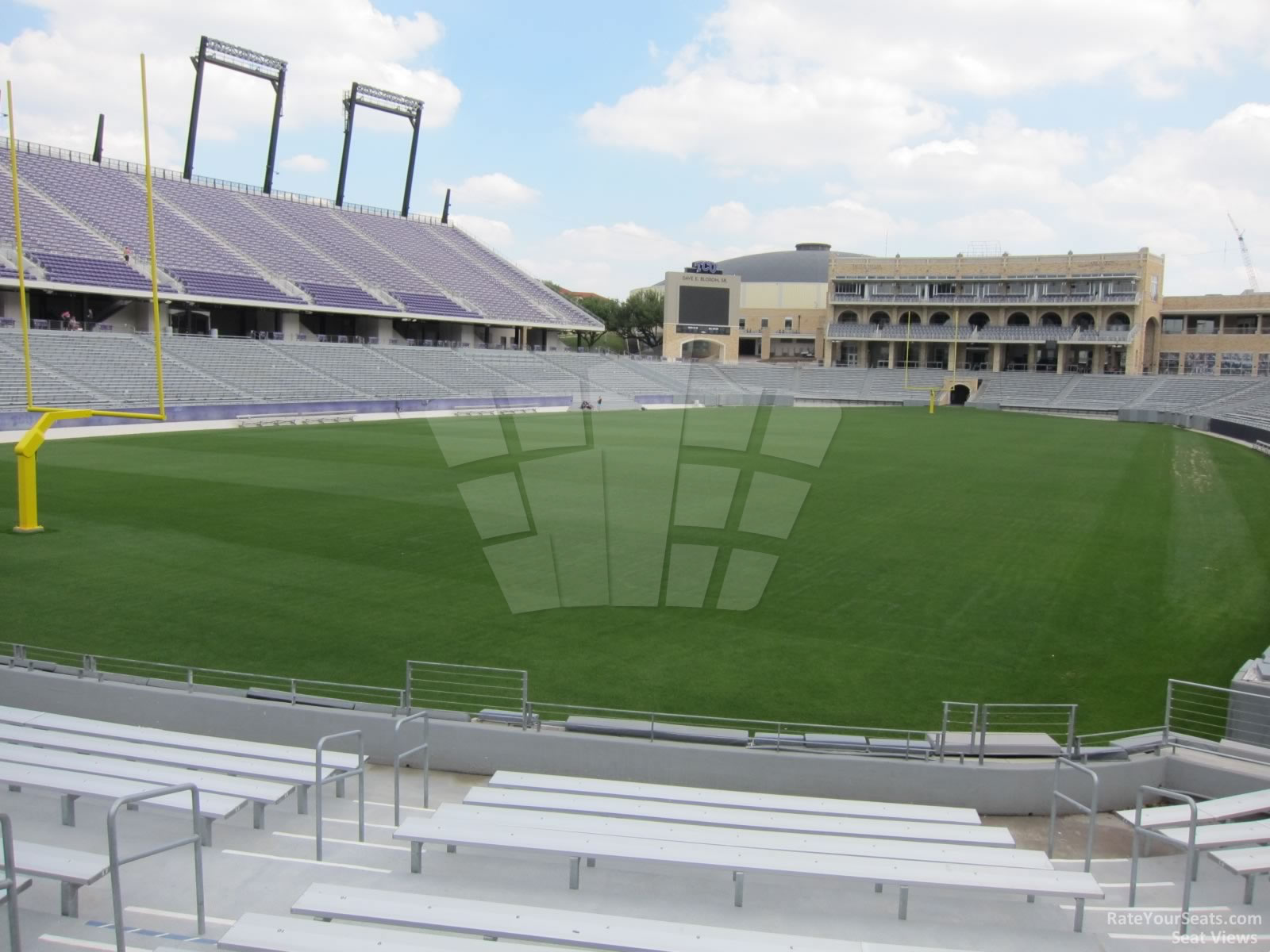 Seat View for Amon Carter Stadium Section 112