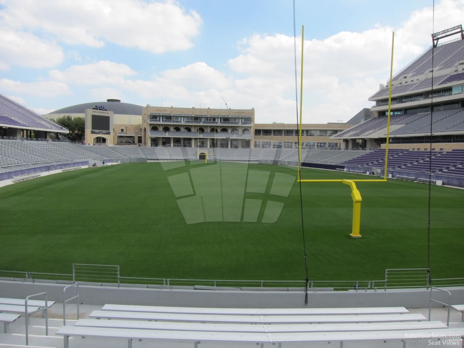 Seat View for Amon Carter Stadium Section 116