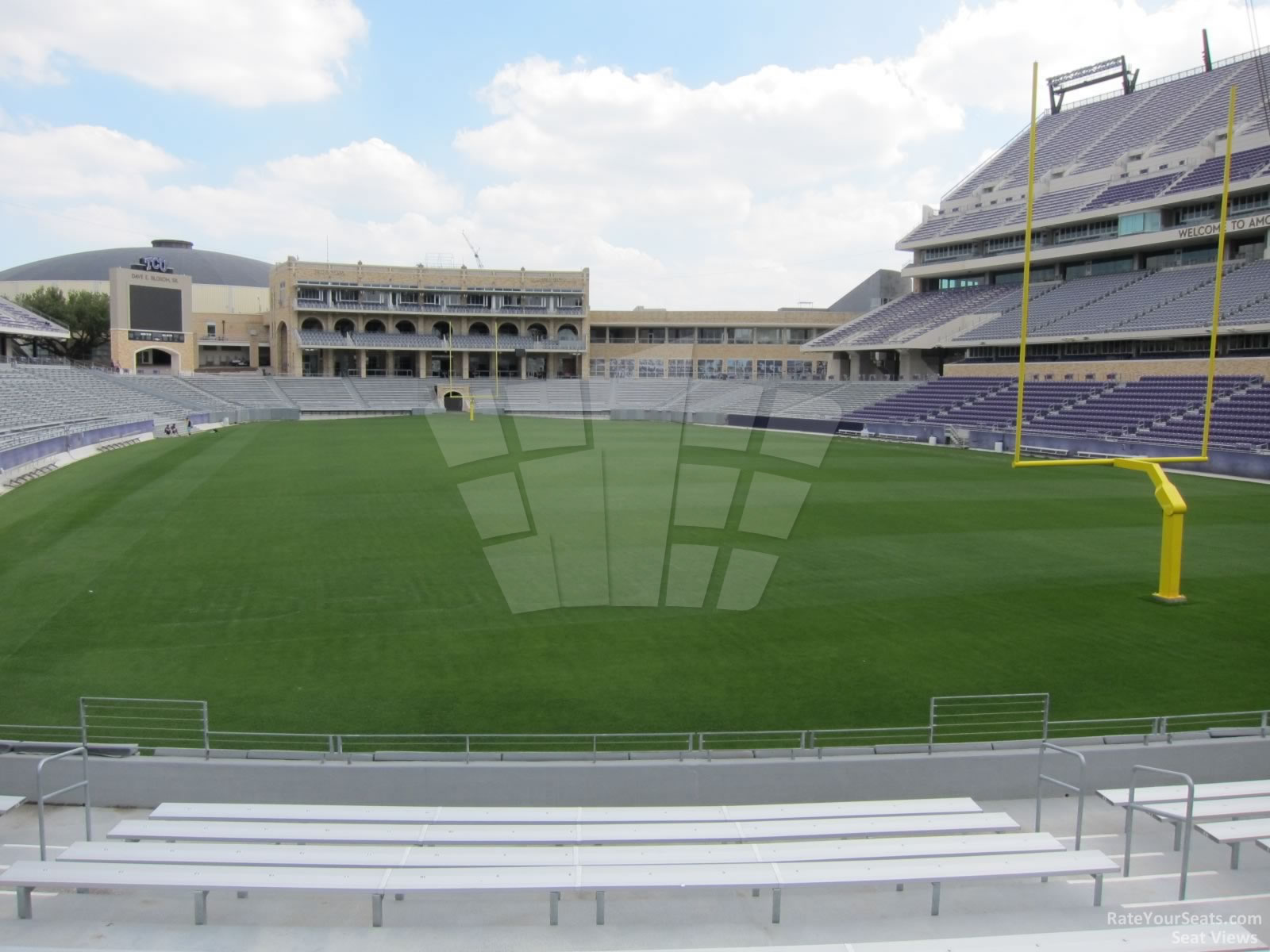 Seat View for Amon Carter Stadium Section 117