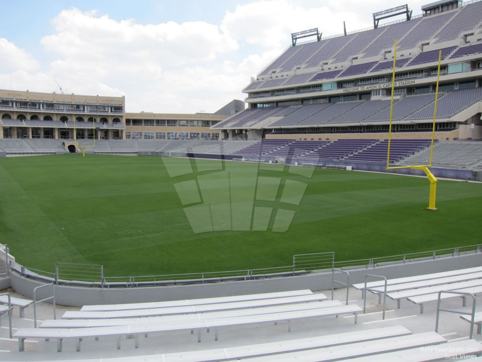 Seat View for Amon Carter Stadium Section 118