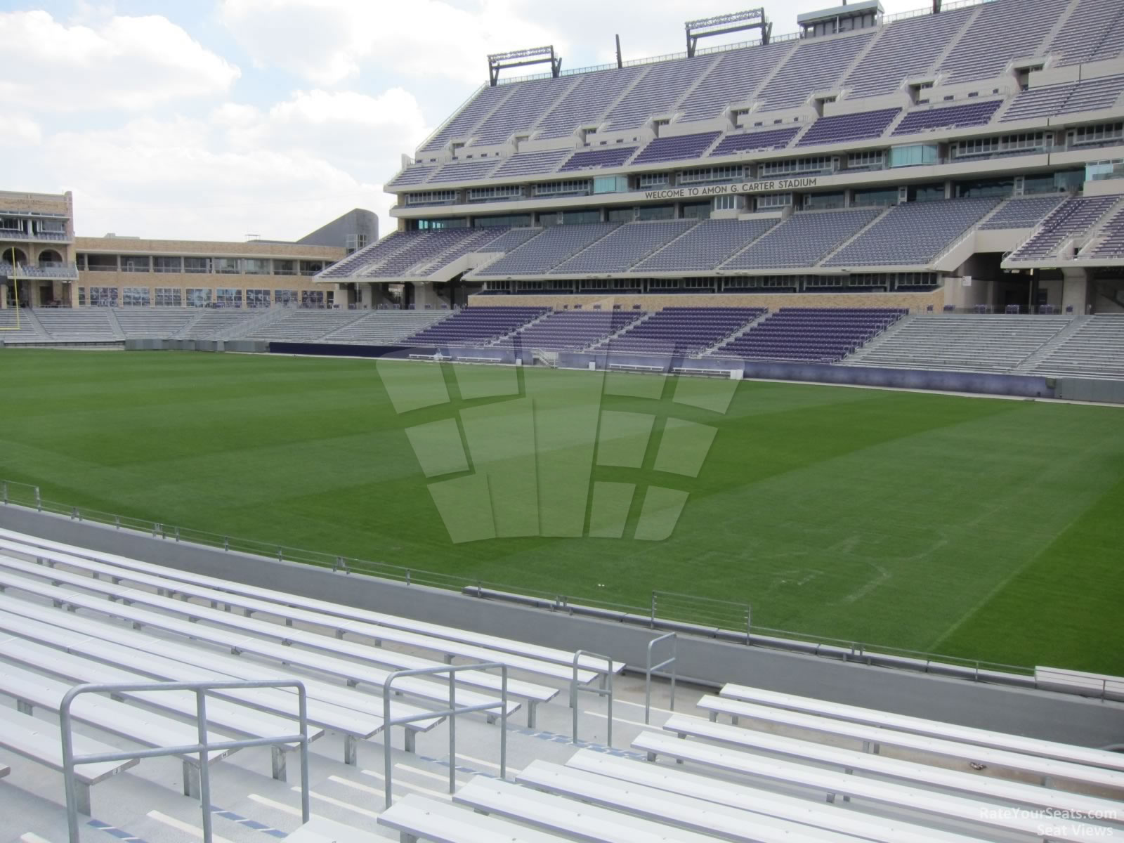 Seat View for Amon Carter Stadium Section 120