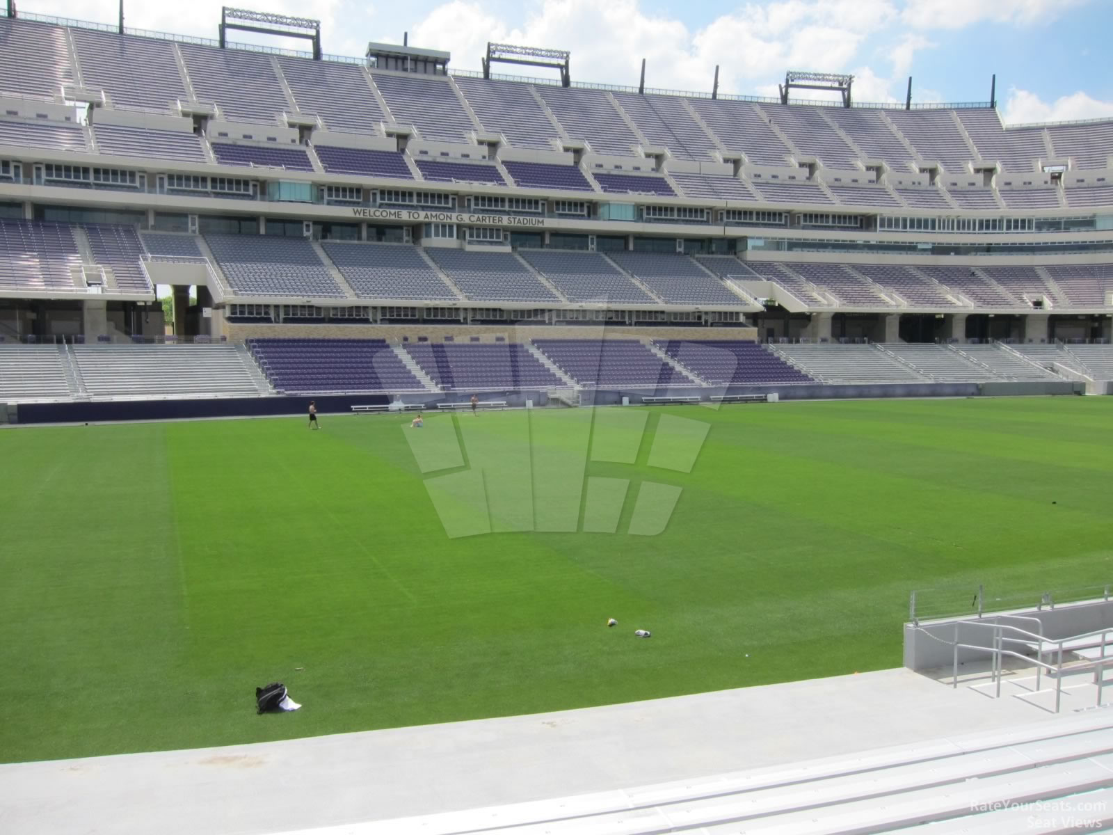 Seat View for Amon Carter Stadium Section 127
