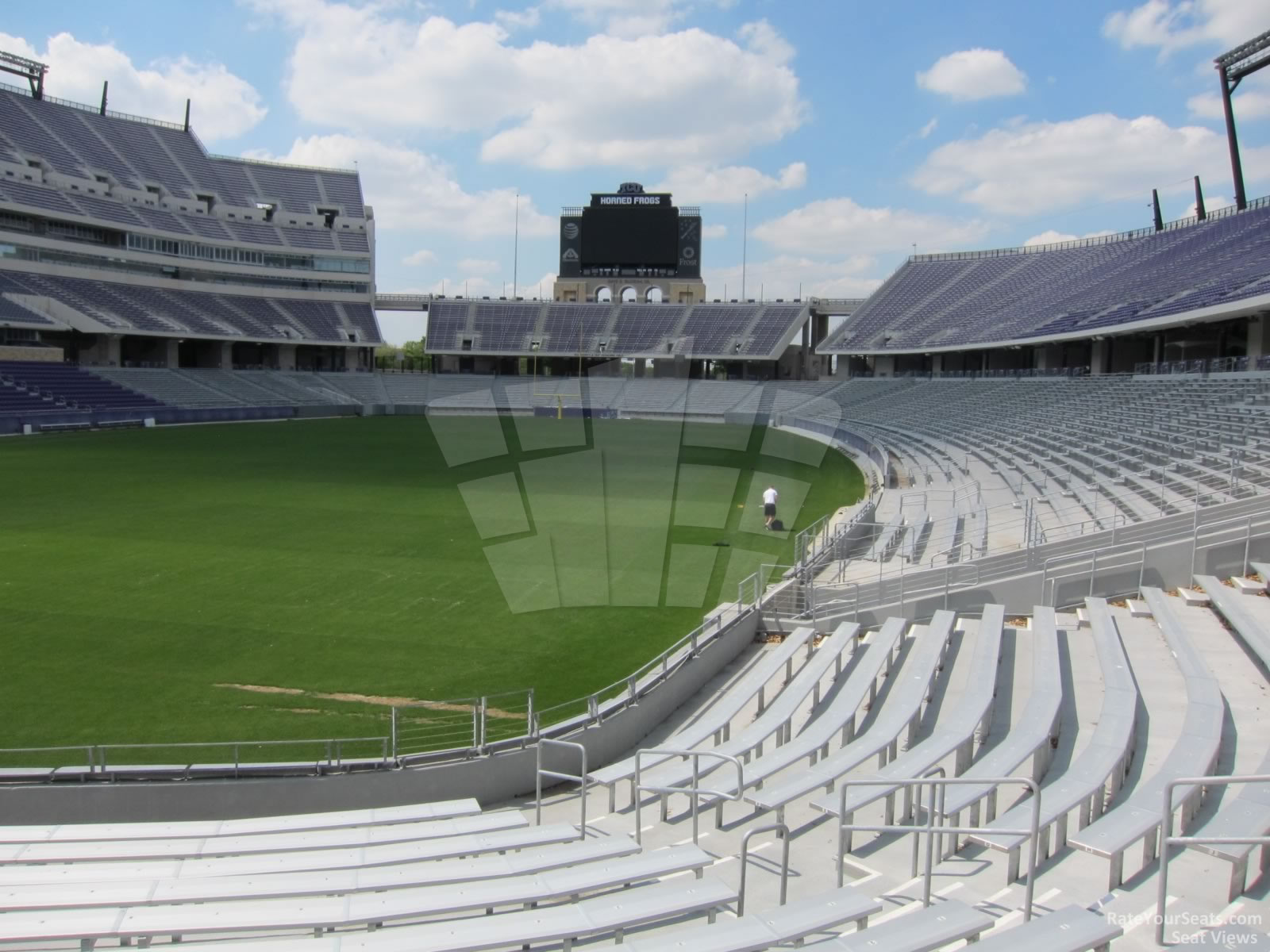 Seat View for Amon Carter Stadium Section 130