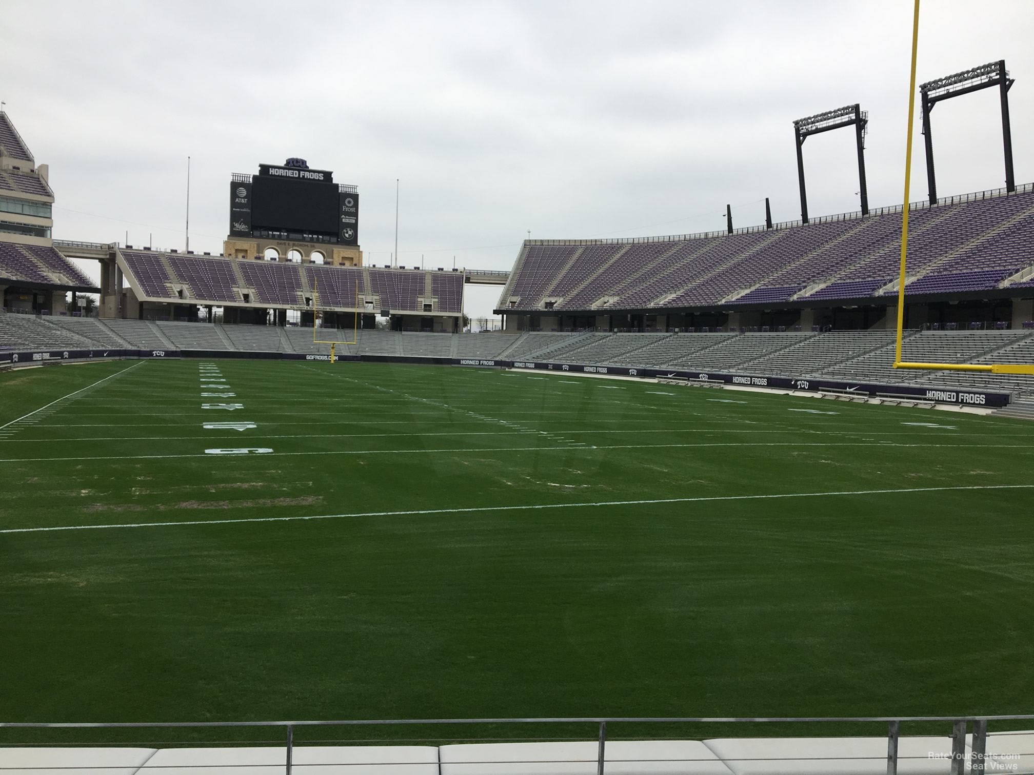 Seat View for Amon Carter Stadium Section 135, Row E