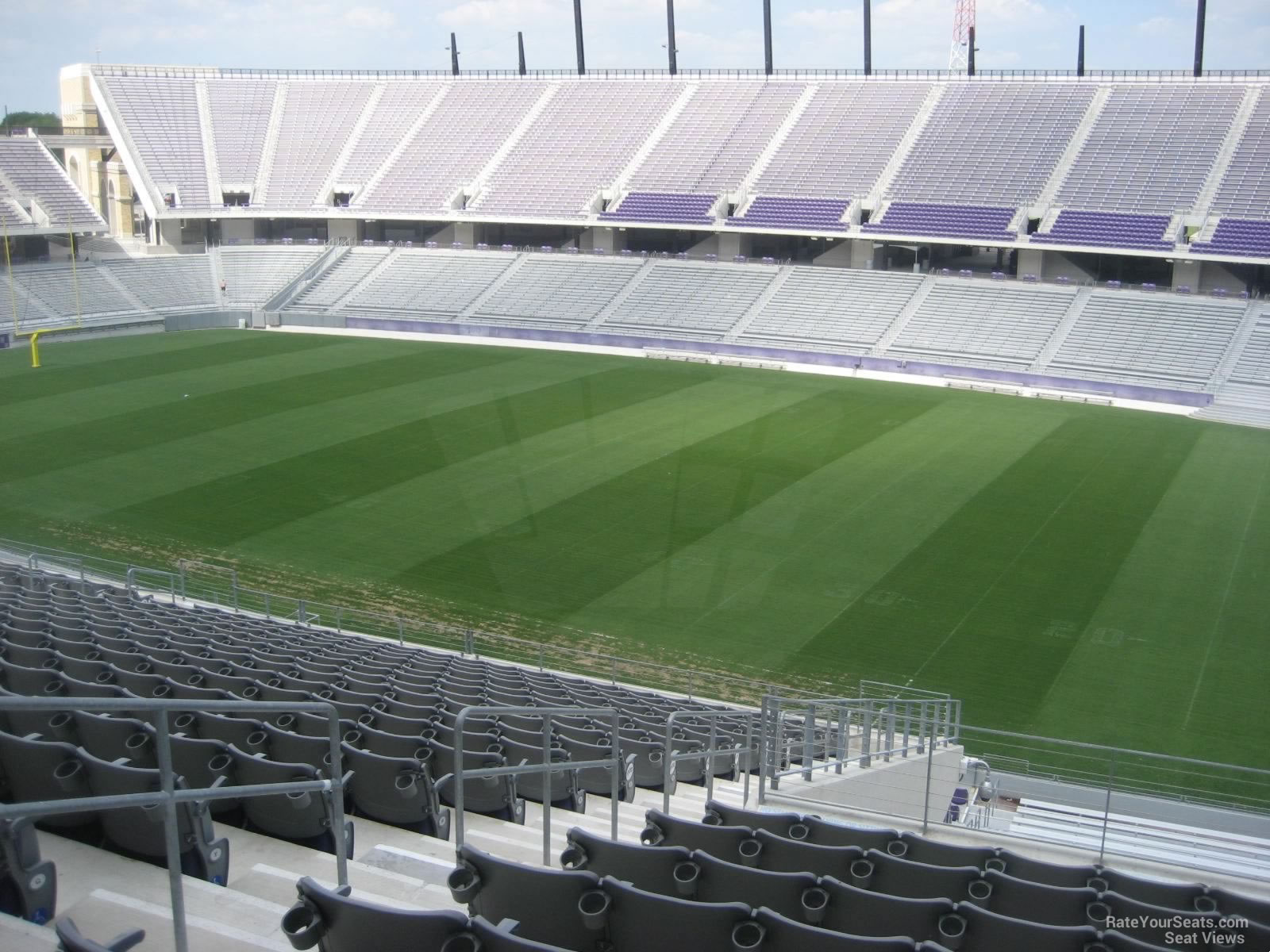 Seat View for Amon Carter Stadium Section 204, Row U