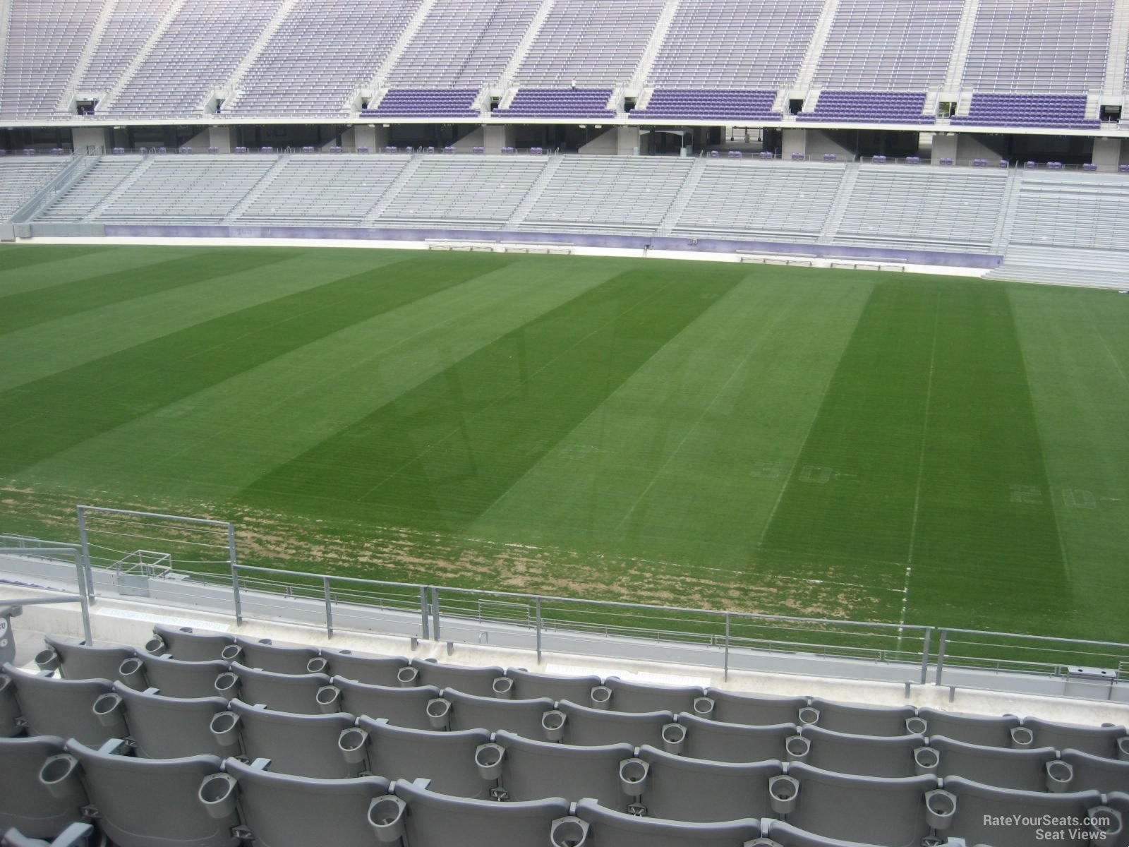 Seat View for Amon Carter Stadium Section 205, Row H