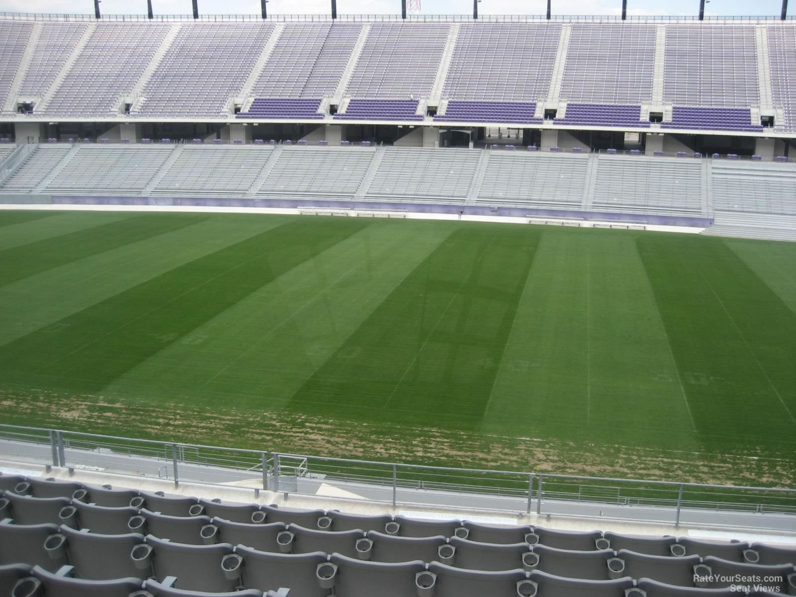 Seat View for Amon Carter Stadium Section 206, Row H