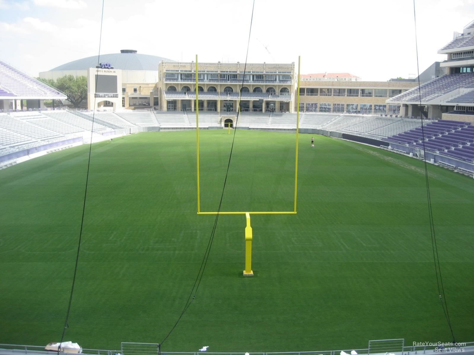 Seat View for Amon Carter Stadium Section 222, Row A