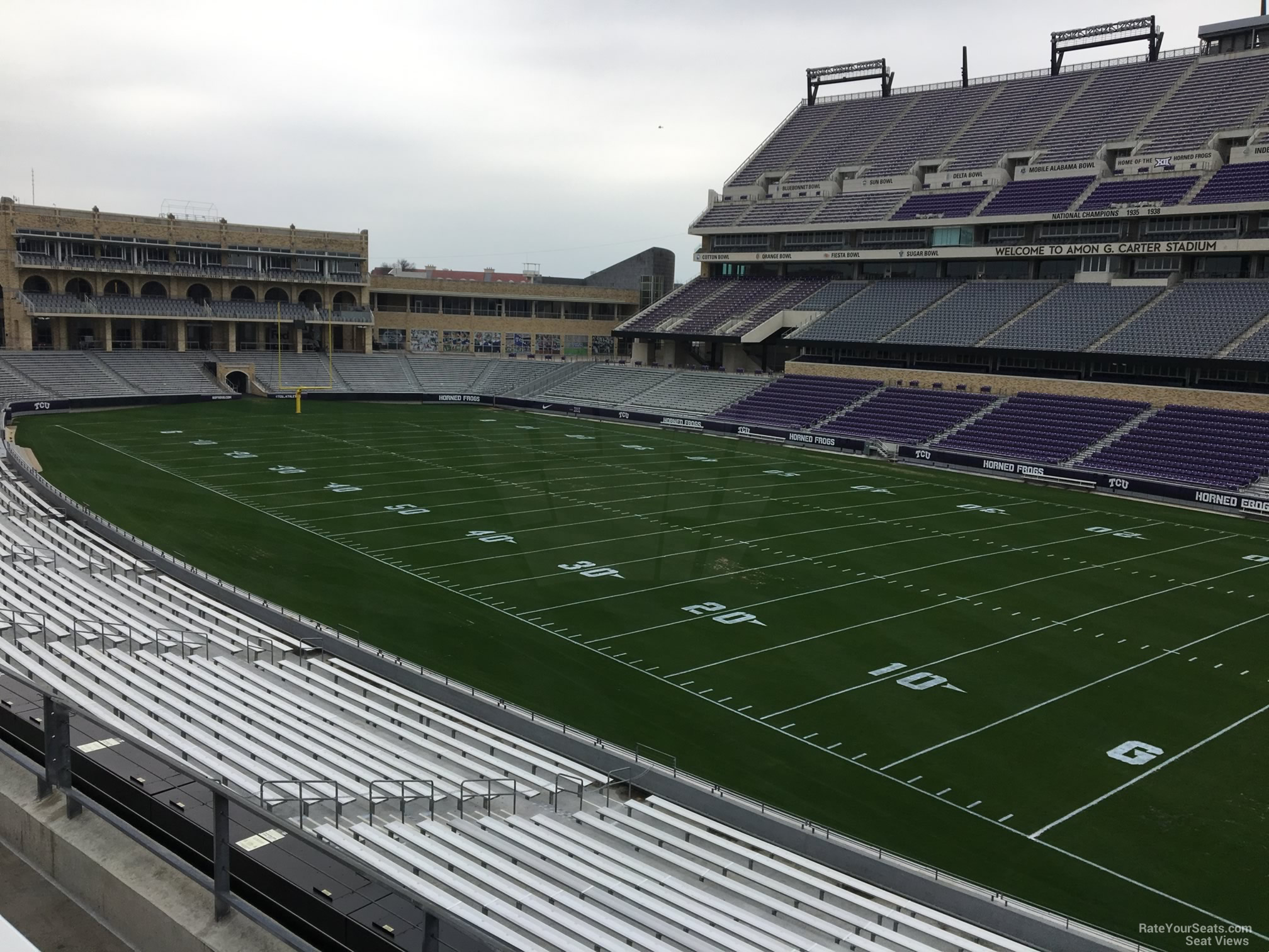 Seat View for Amon Carter Stadium Section 230, Row C
