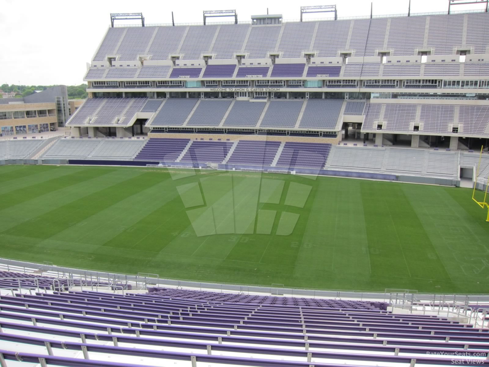 Seat View for Amon Carter Stadium Section 232, Row AA