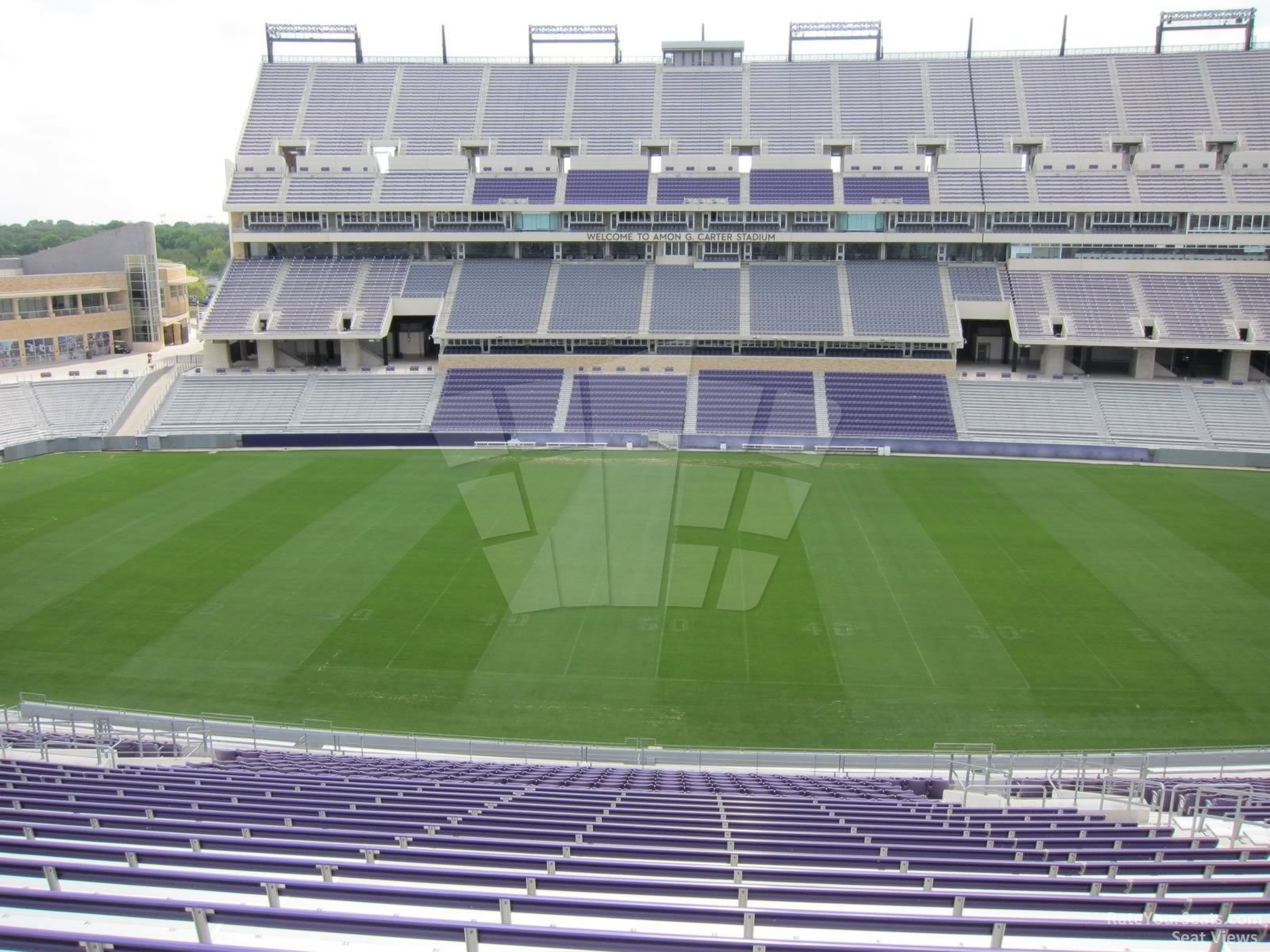 Seat View for Amon Carter Stadium Section 234, Row AA