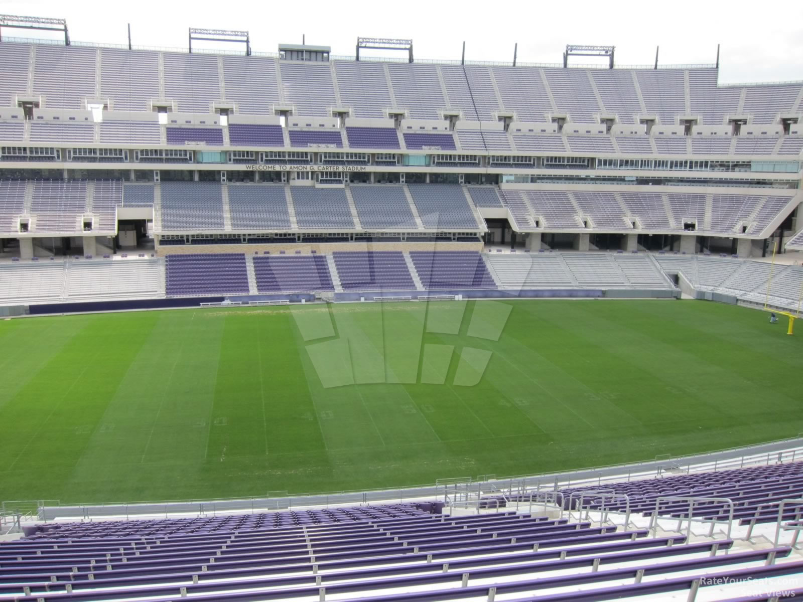Seat View for Amon Carter Stadium Section 235, Row AA