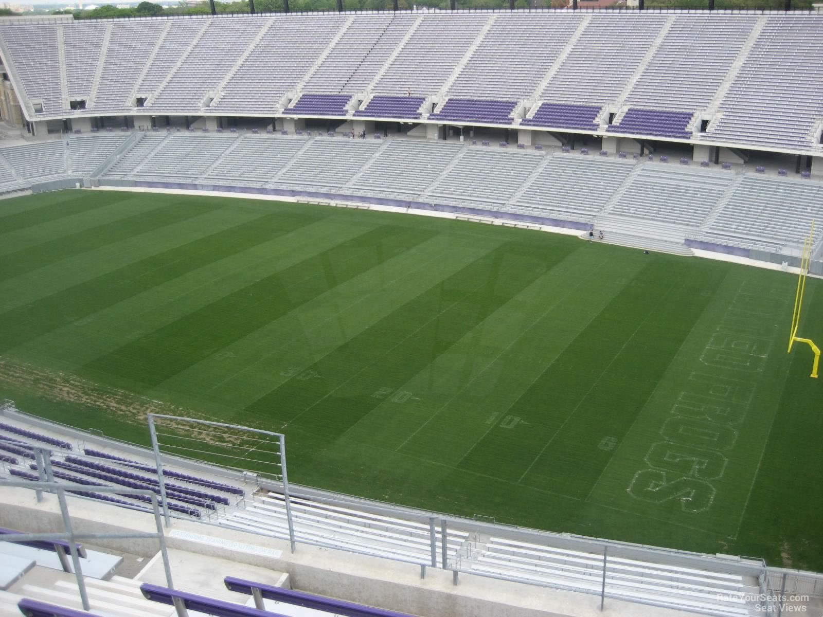 Seat View for Amon Carter Stadium Section 301, Row G