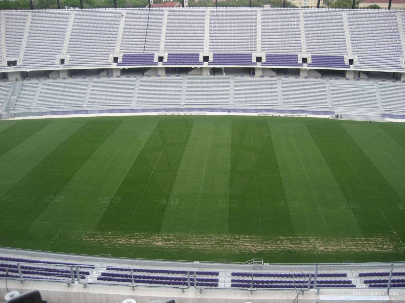 Seat View for Amon Carter Stadium Section 306, Row G