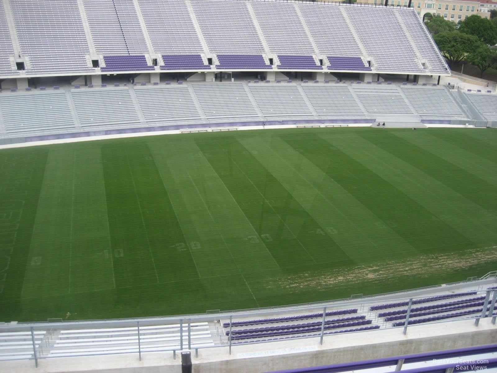 Seat View for Amon Carter Stadium Section 309, Row G