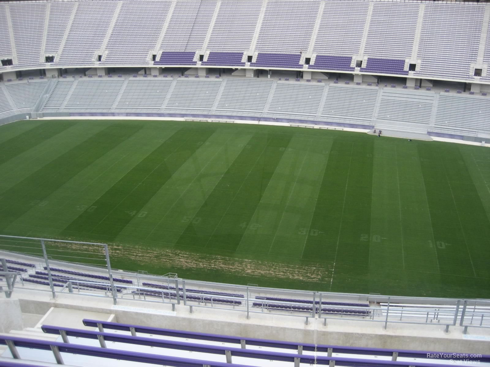 Seat View for Amon Carter Stadium Section 404, Row H