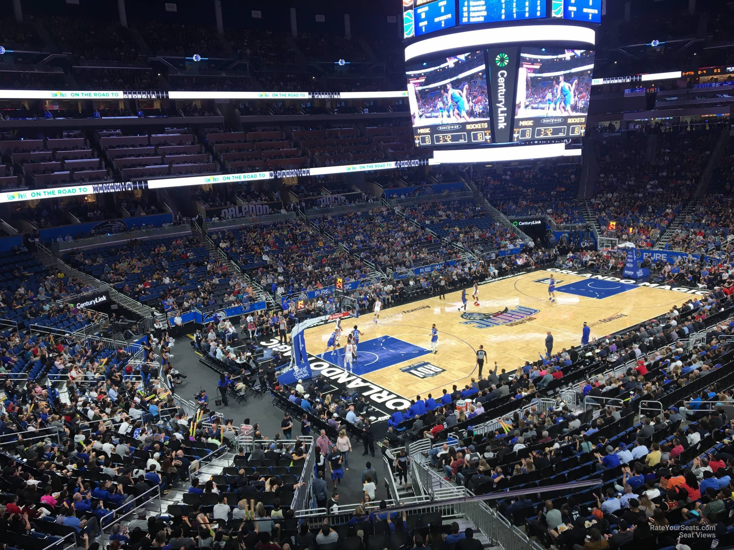 Seat View for Amway Center Legends Suite A, Row G