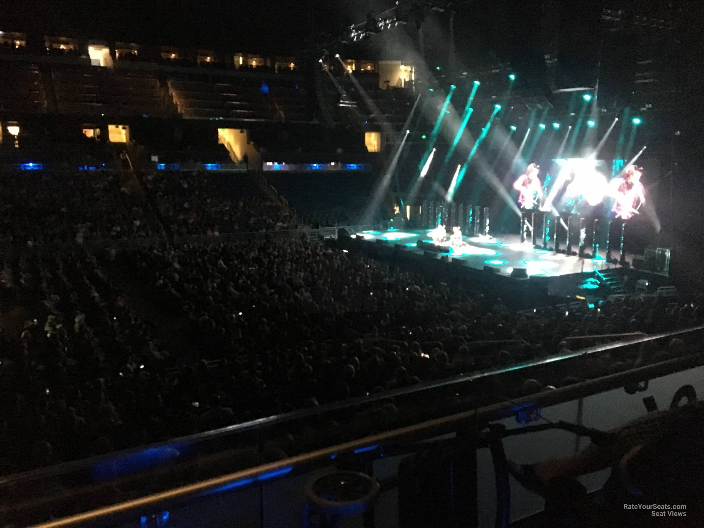 Concert Seat View for Amway Center Section 106, Row 15