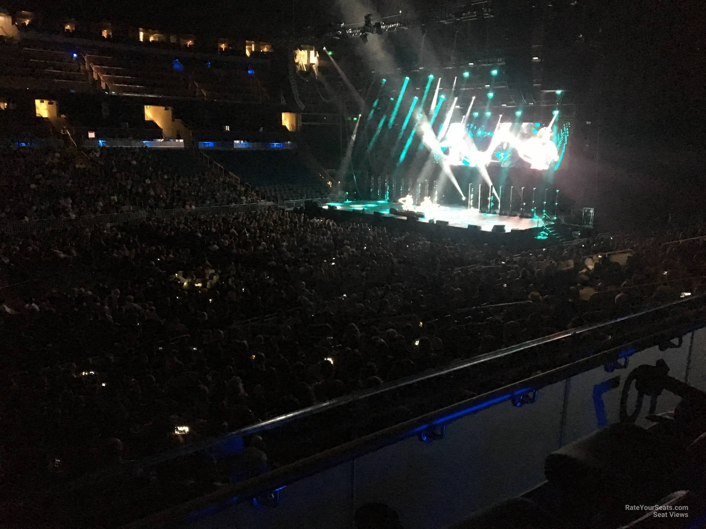 Concert Seat View for Amway Center Section 107, Row 15