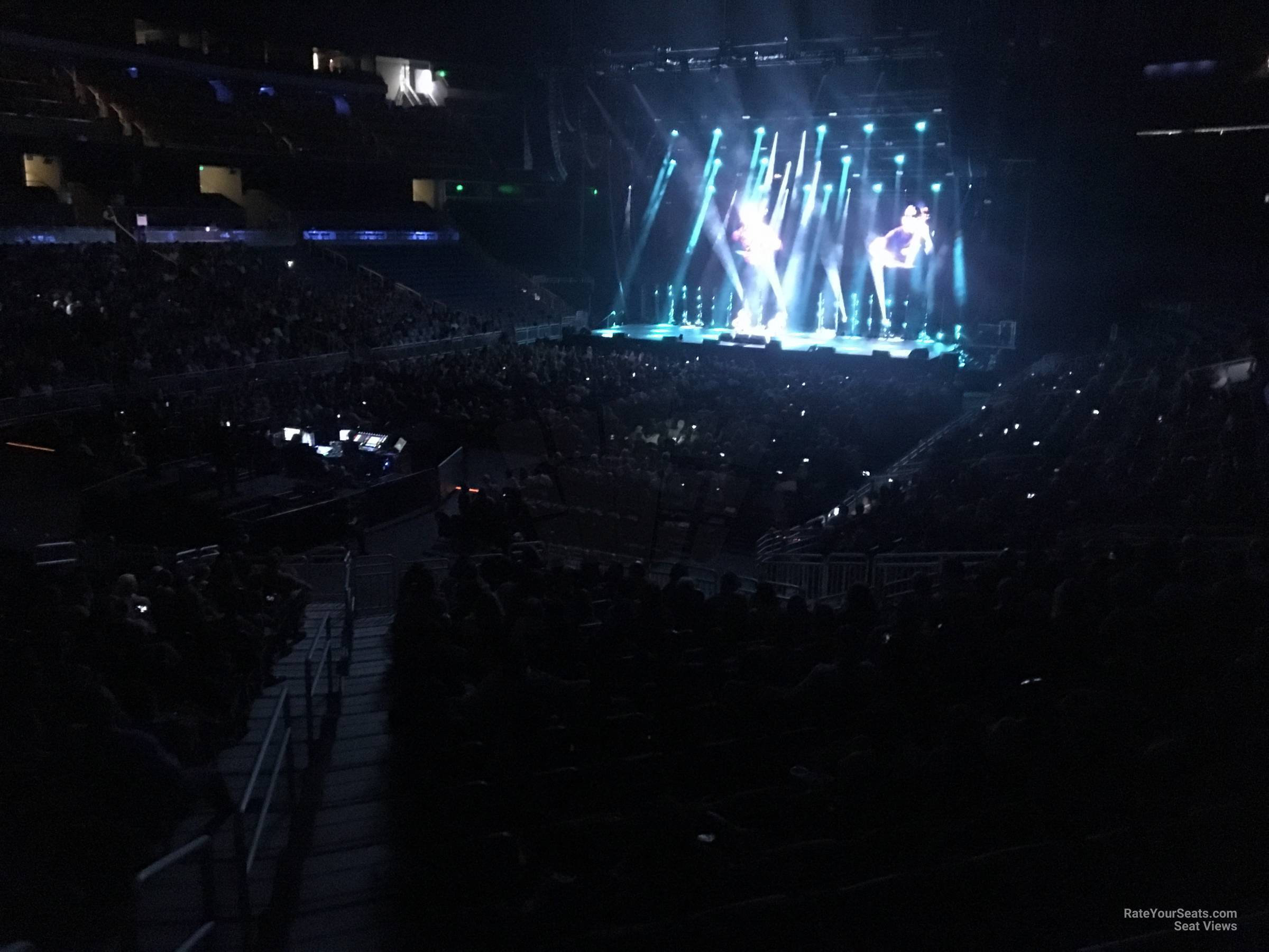 Concert Seat View for Amway Center Section 108, Row 18