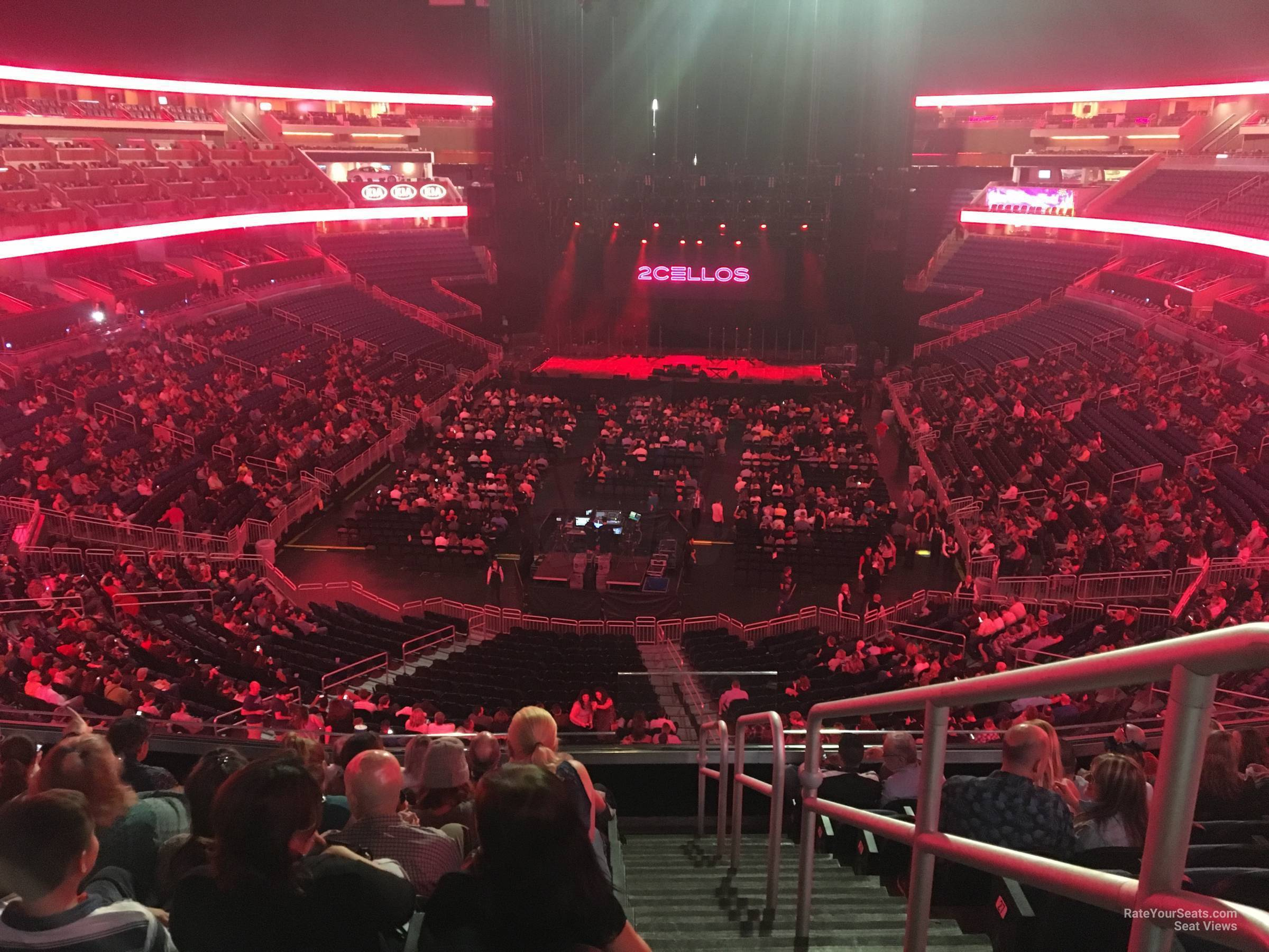 Concert Seat View for Amway Center Section 109A, Row 30