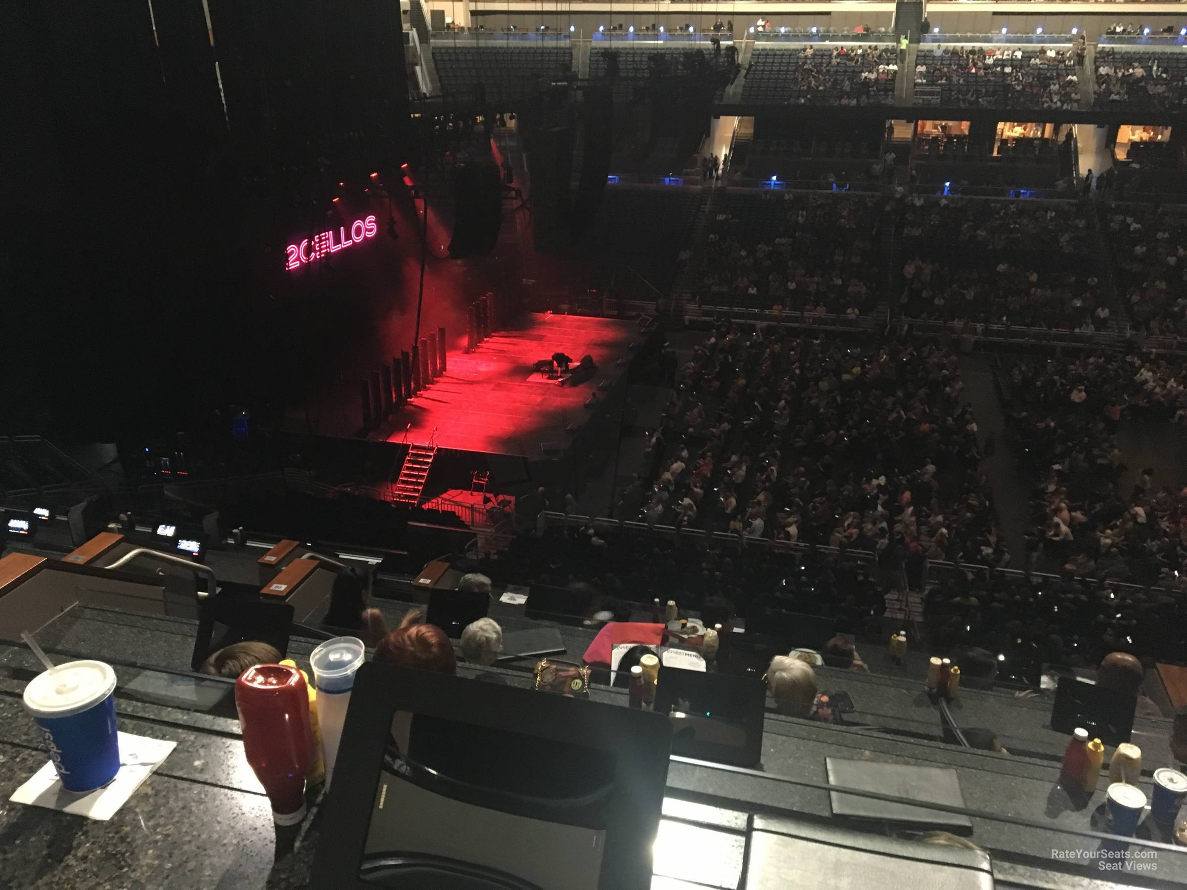 Concert Seat View for Amway Center Section H, Row 5