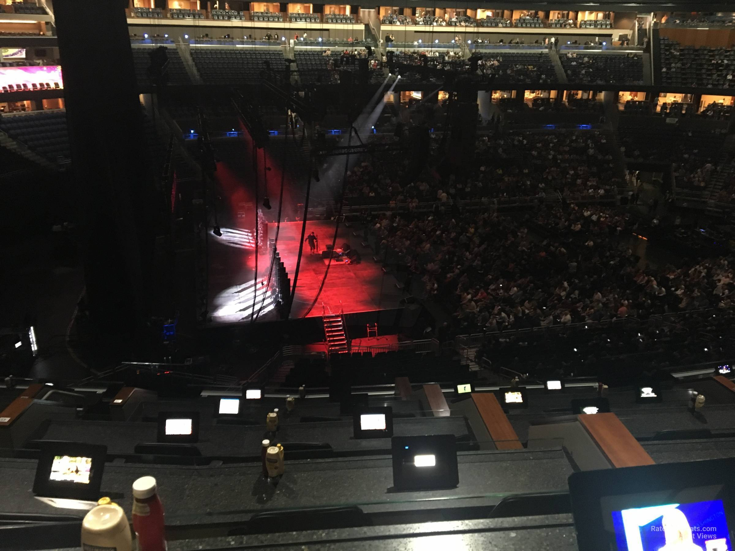 Concert Seat View for Amway Center Section L, Row 5