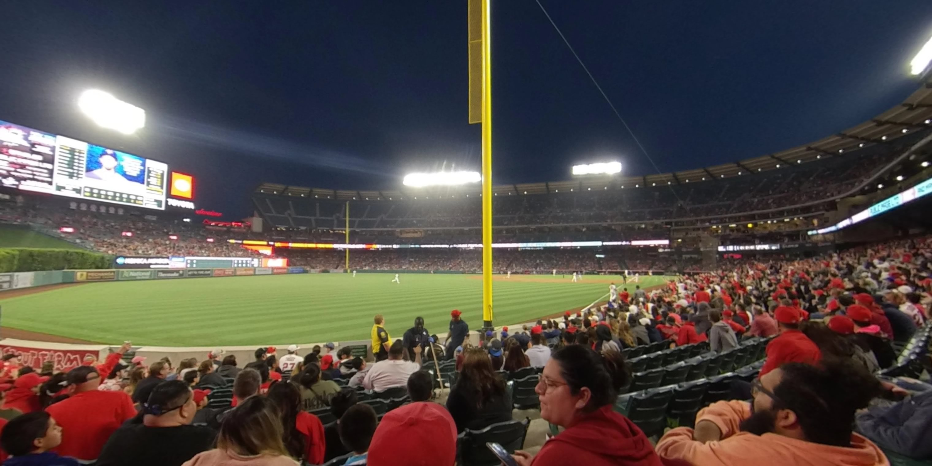 360° Photo From Angel Stadium Section 104