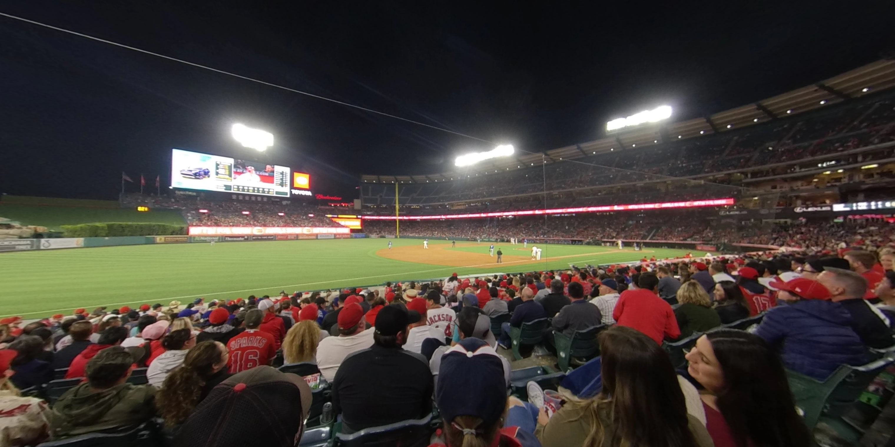 360° Photo From Angel Stadium Section 110