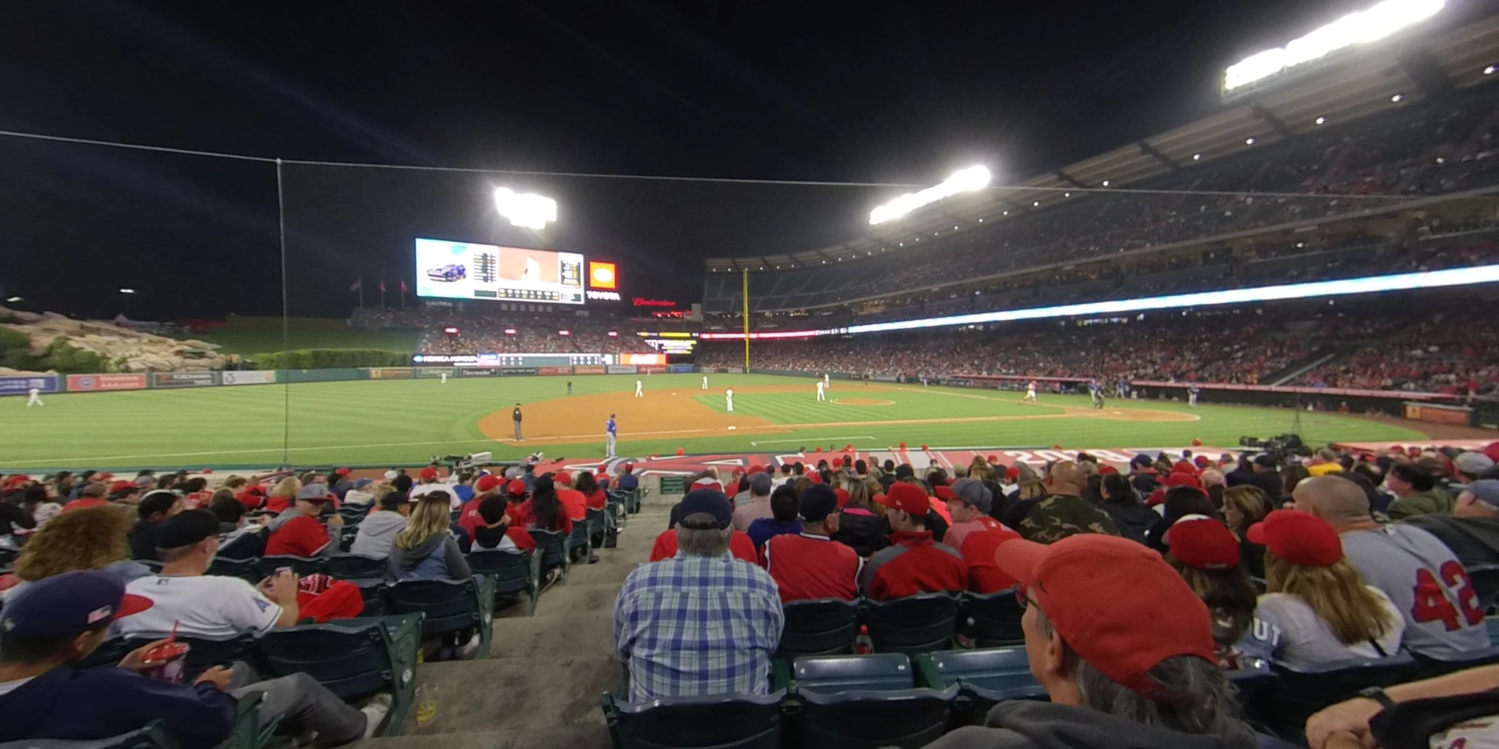 360° Photo From Angel Stadium Section 111