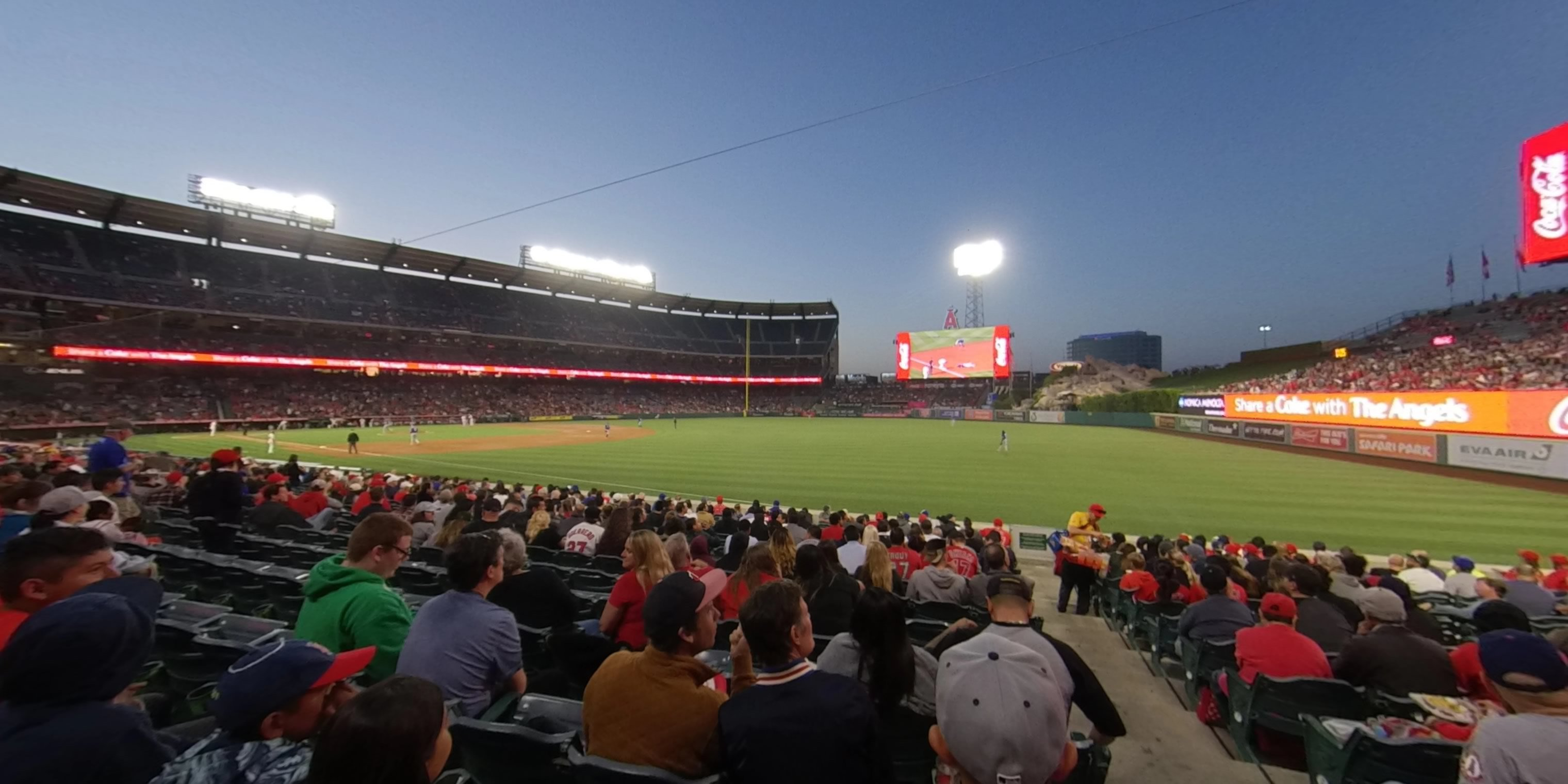 360° Photo From Angel Stadium Section 131