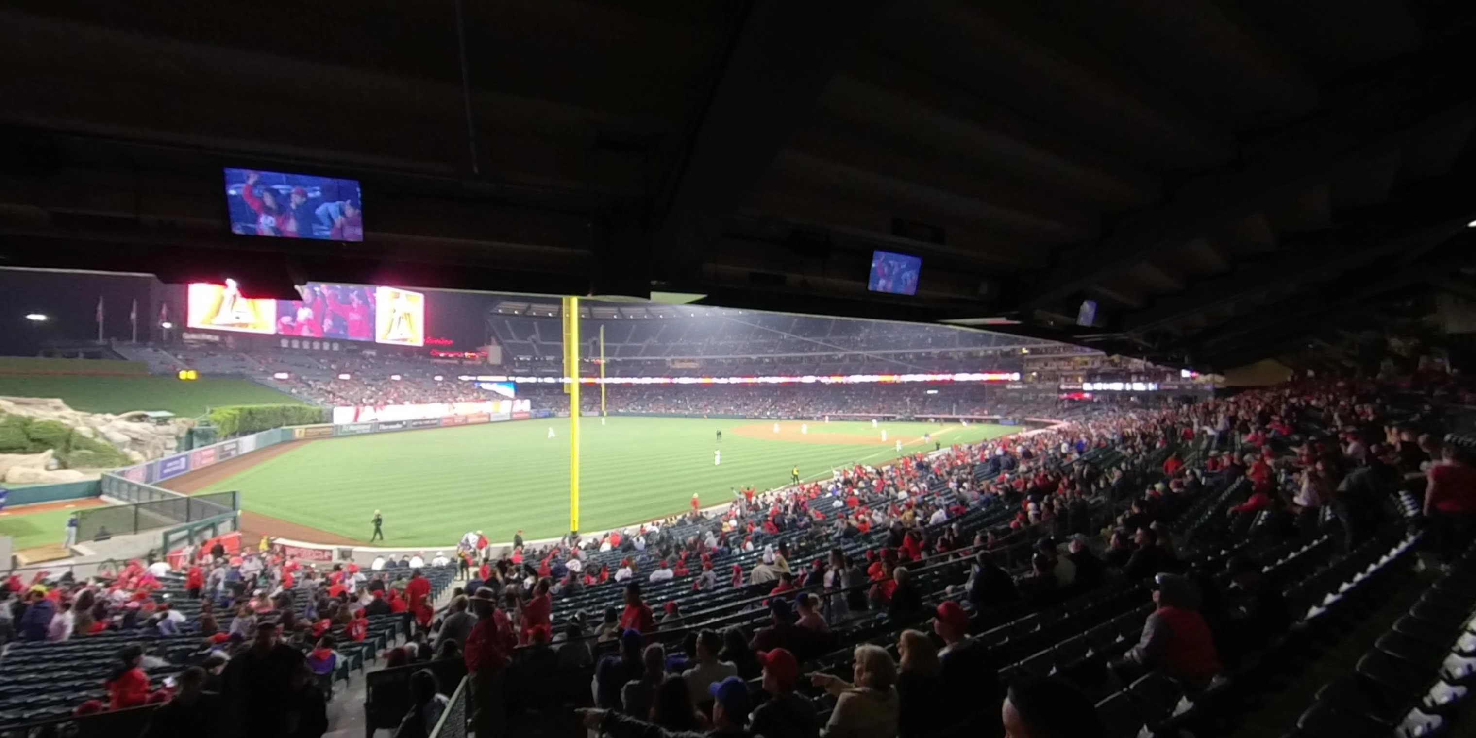 360° Photo From Angel Stadium Section 203