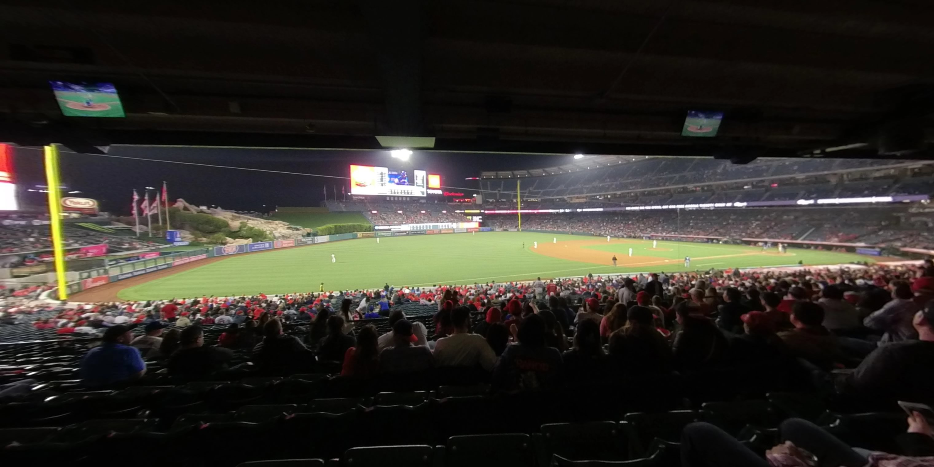 360° Photo From Angel Stadium Section 207