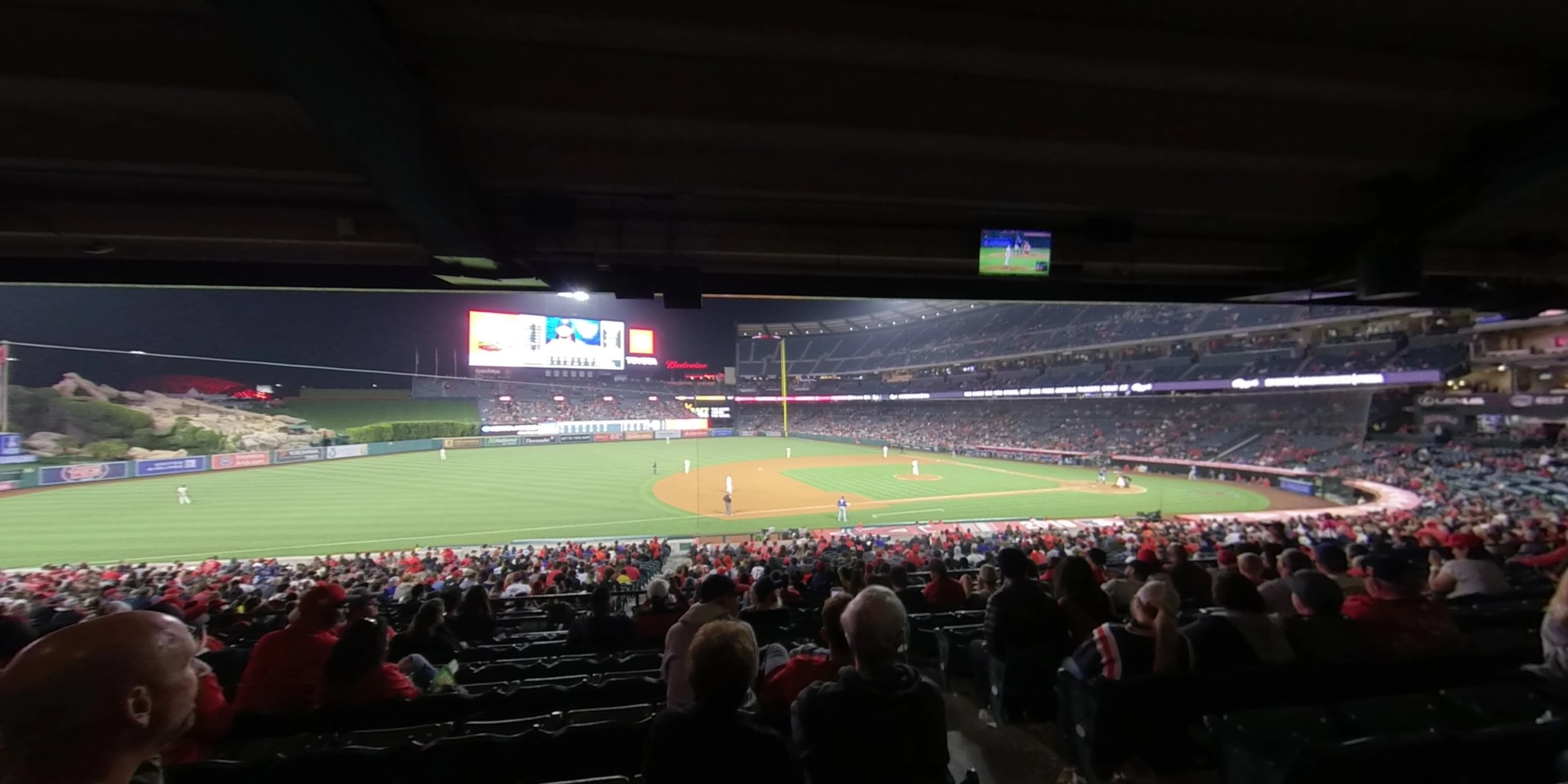 360° Photo From Angel Stadium Section 210