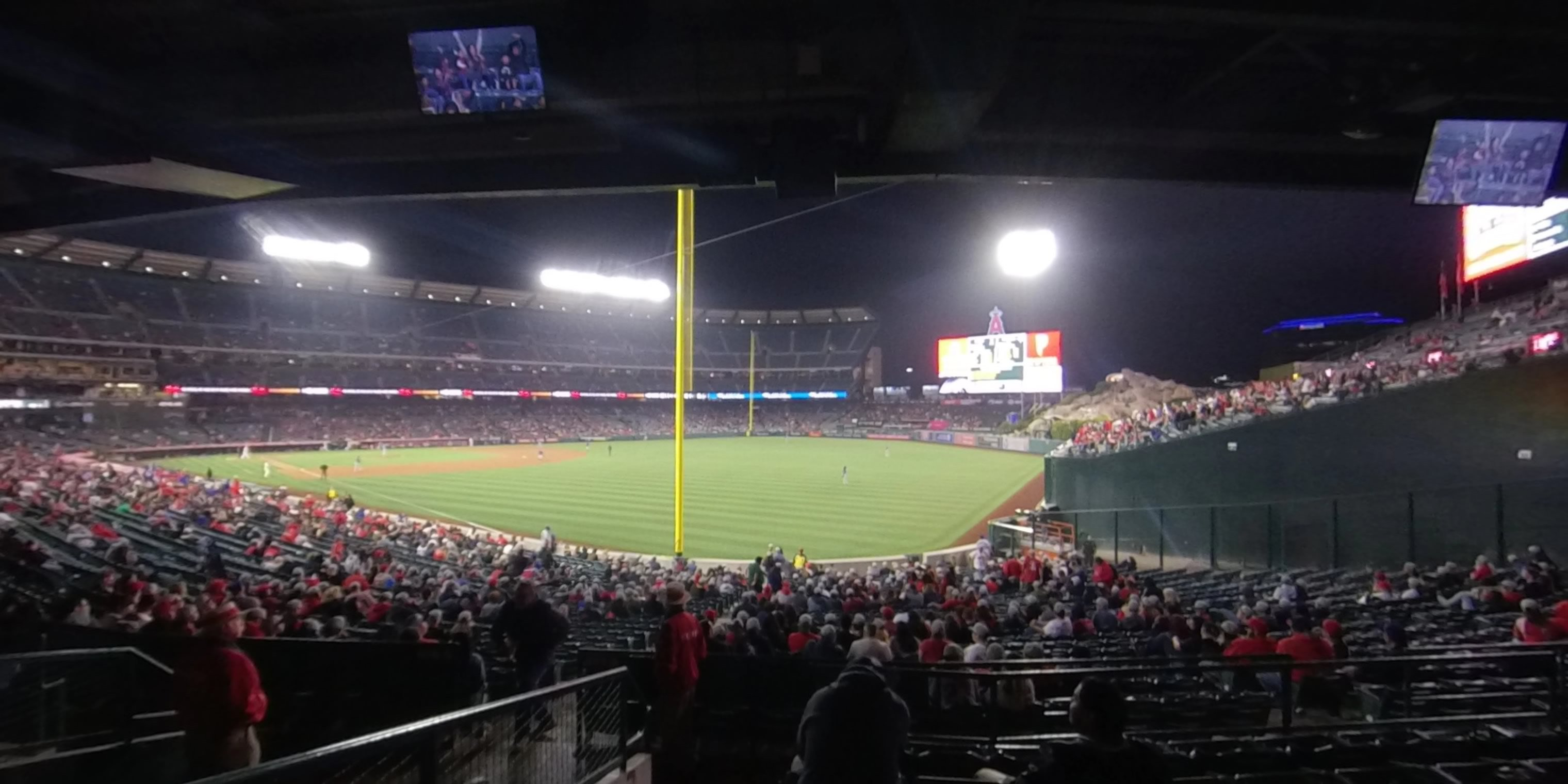 360° Photo From Angel Stadium Section 230