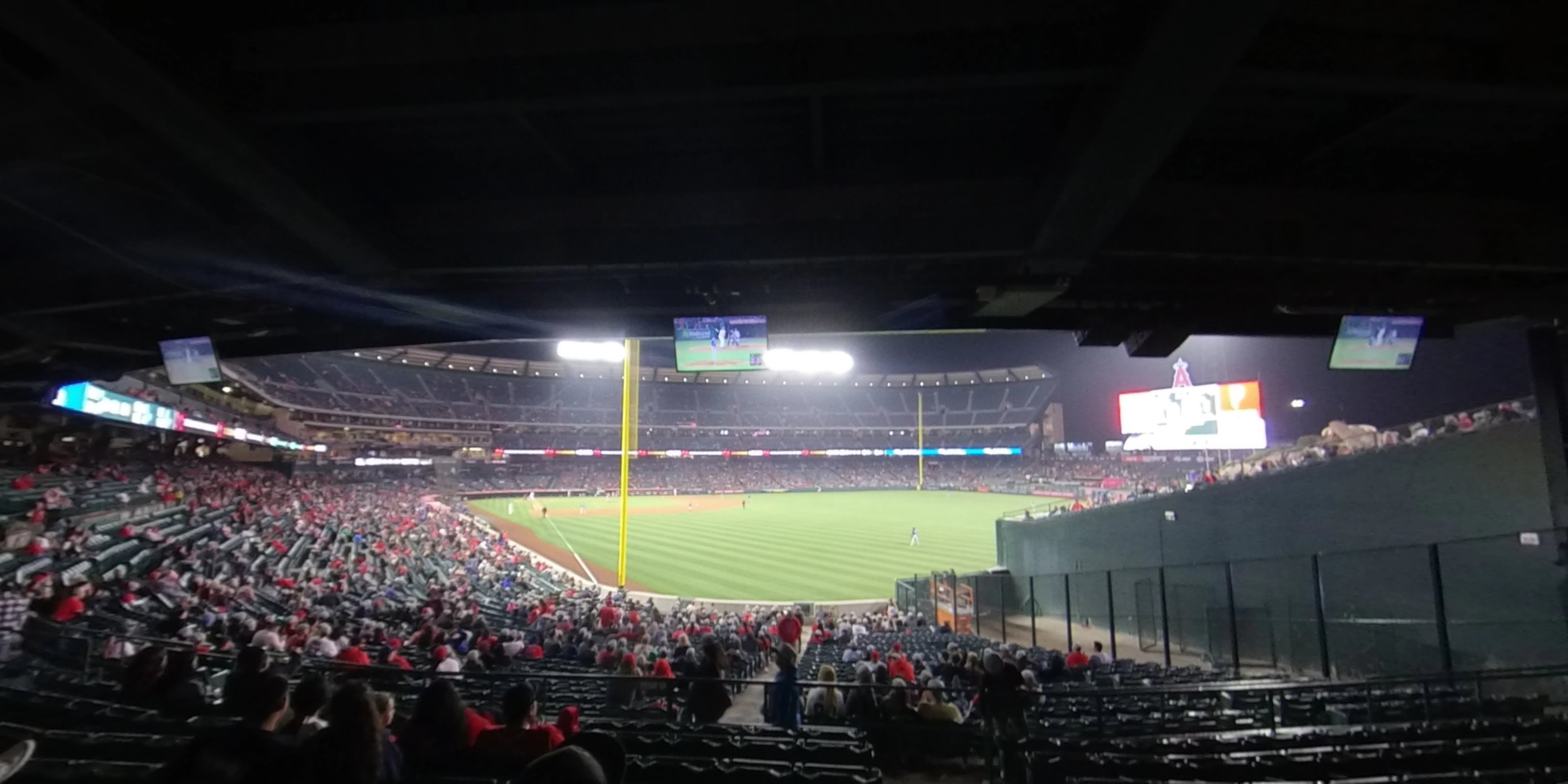 360° Photo From Angel Stadium Section 232