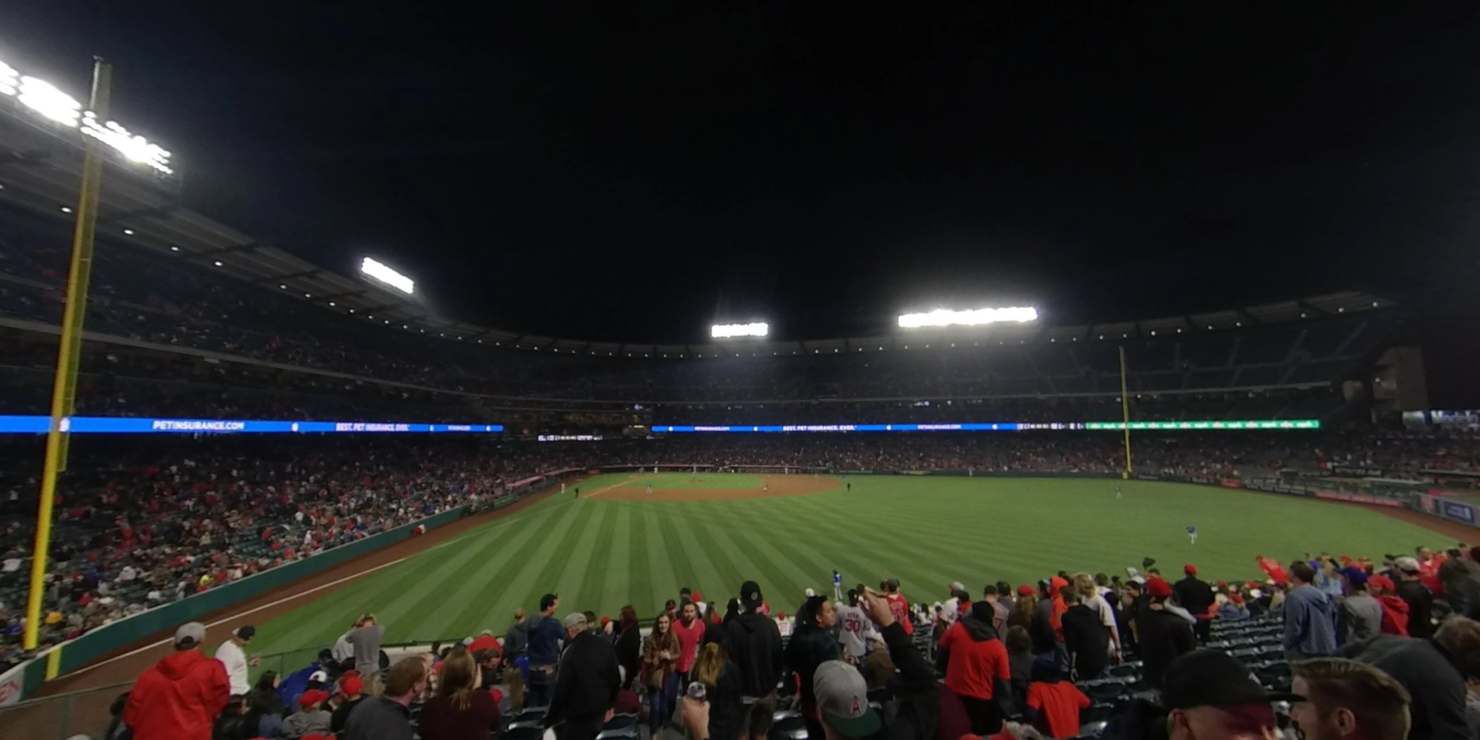 360° Photo From Angel Stadium Section 236